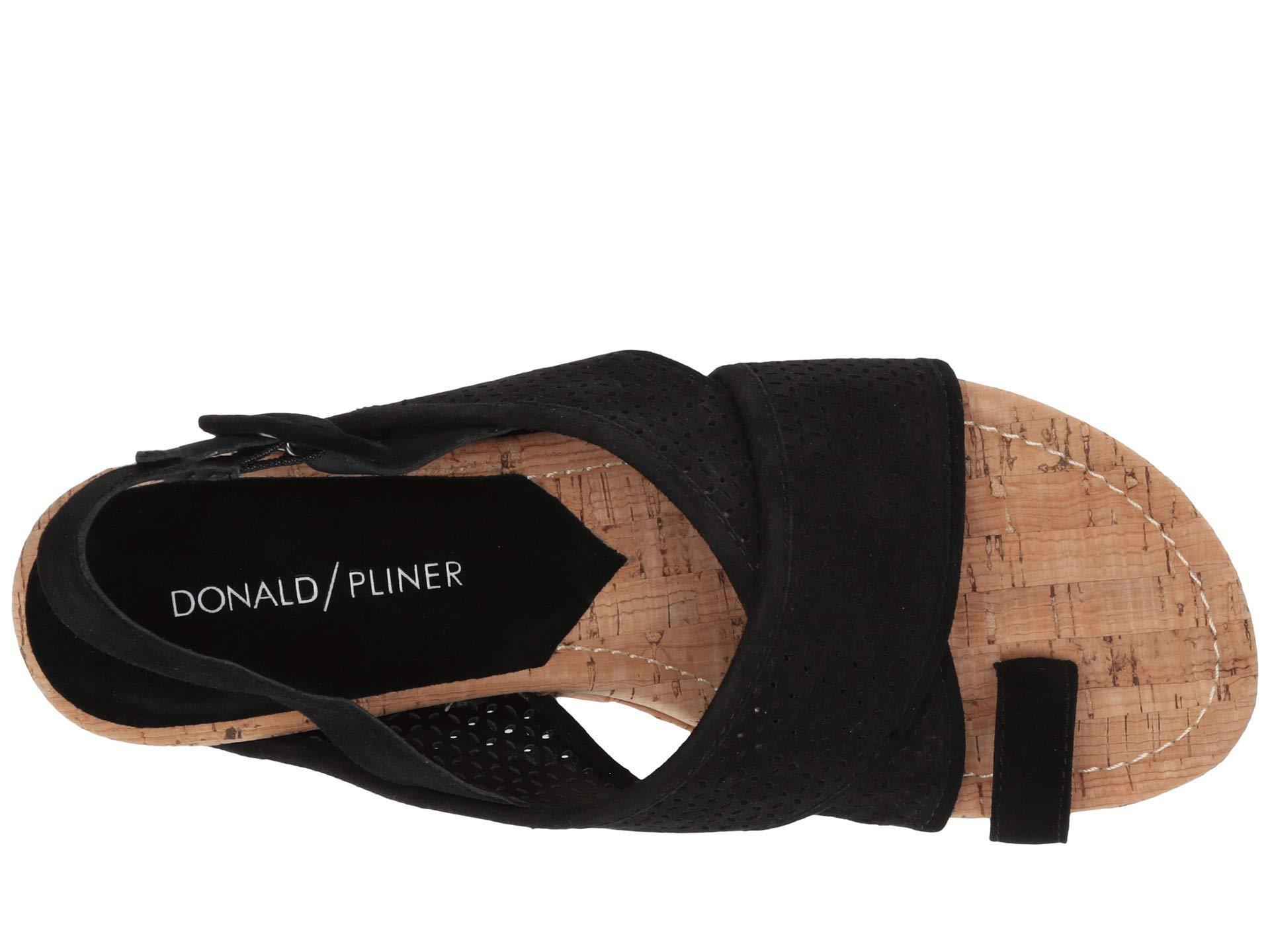 4ef17b36a72 Donald J Pliner - Black Gary (natural Python Print) Women s Wedge Shoes -  Lyst. View fullscreen