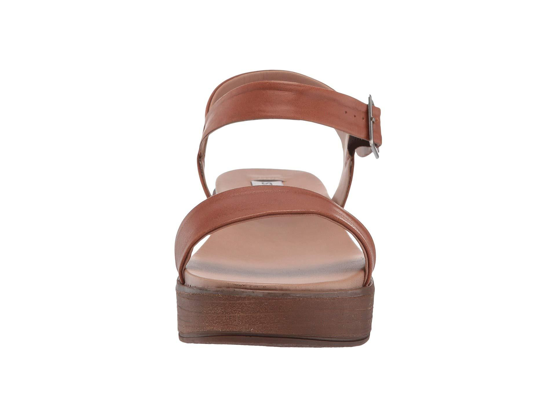 5bde94865ecb ... Brown Aida-1 Platform Sandal (black Leather) Women s Shoes -. View  fullscreen