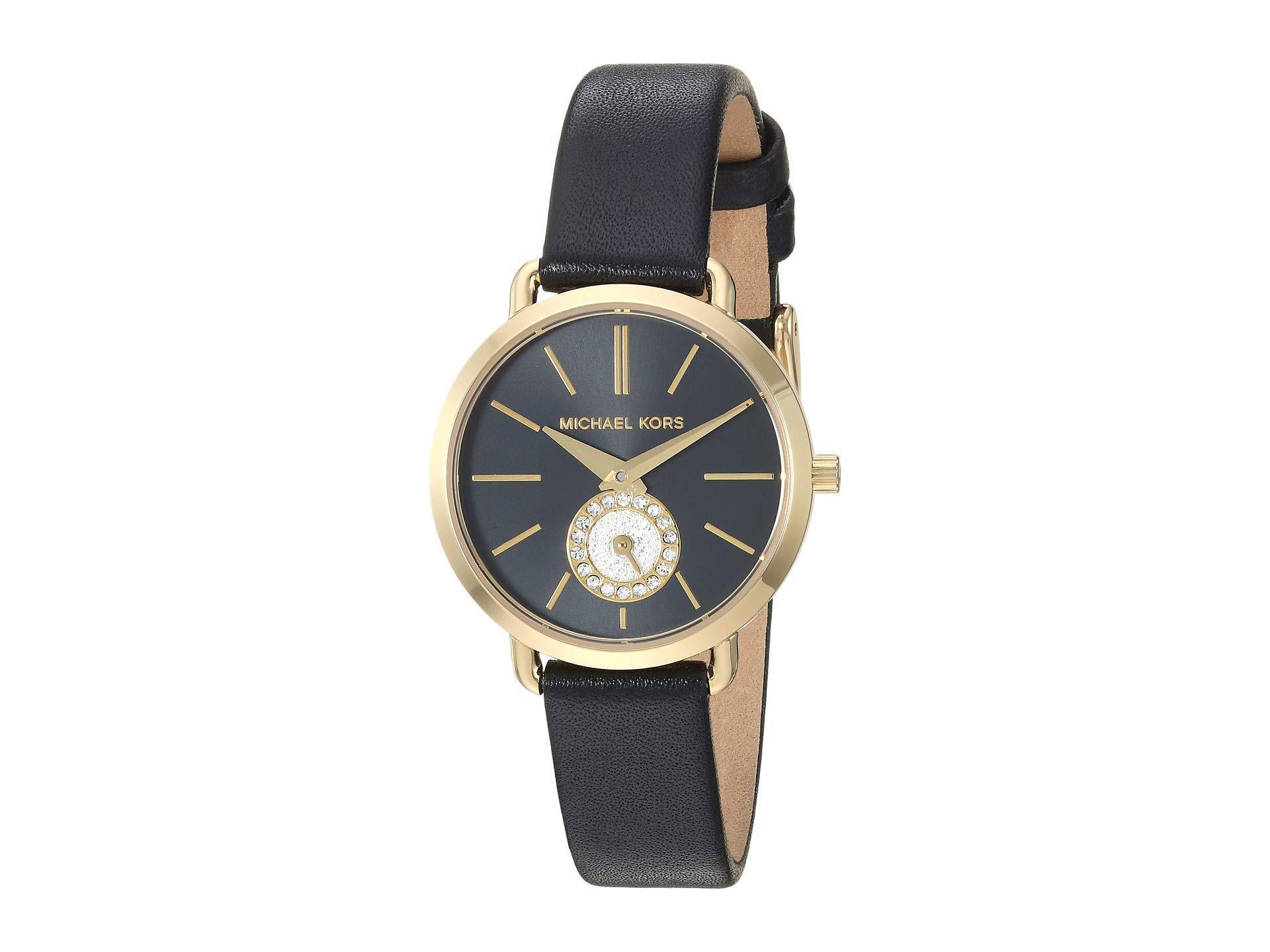 eaa8c2c0108f Lyst - Michael Kors Portia - Mk2750 (black) Watches in Black