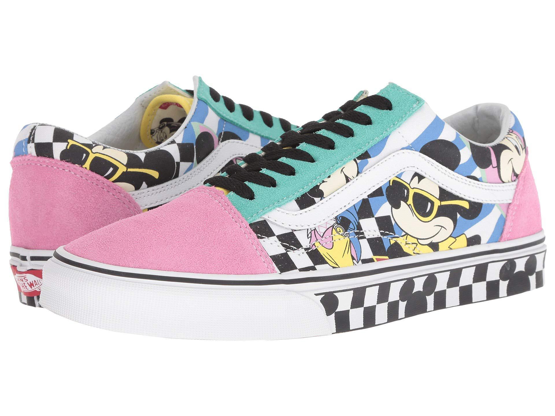 NEW VANS X Disney Mickey Mouse Old Skool Skate Sneakers