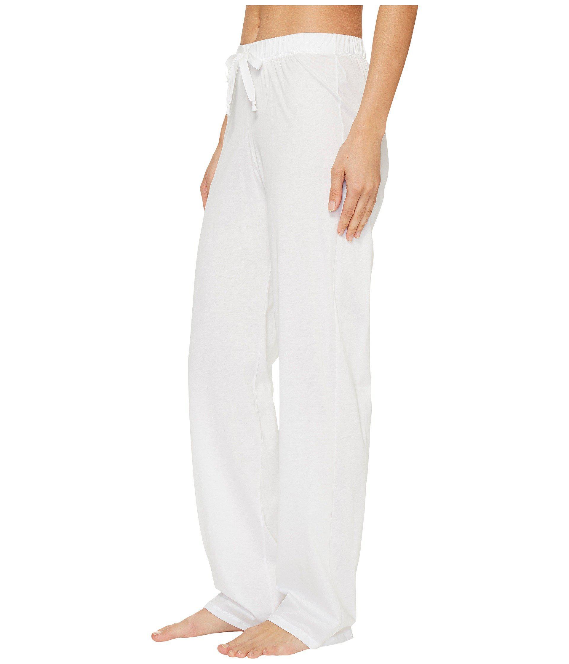 Hanro new Short leg pants in 100/% white cotton