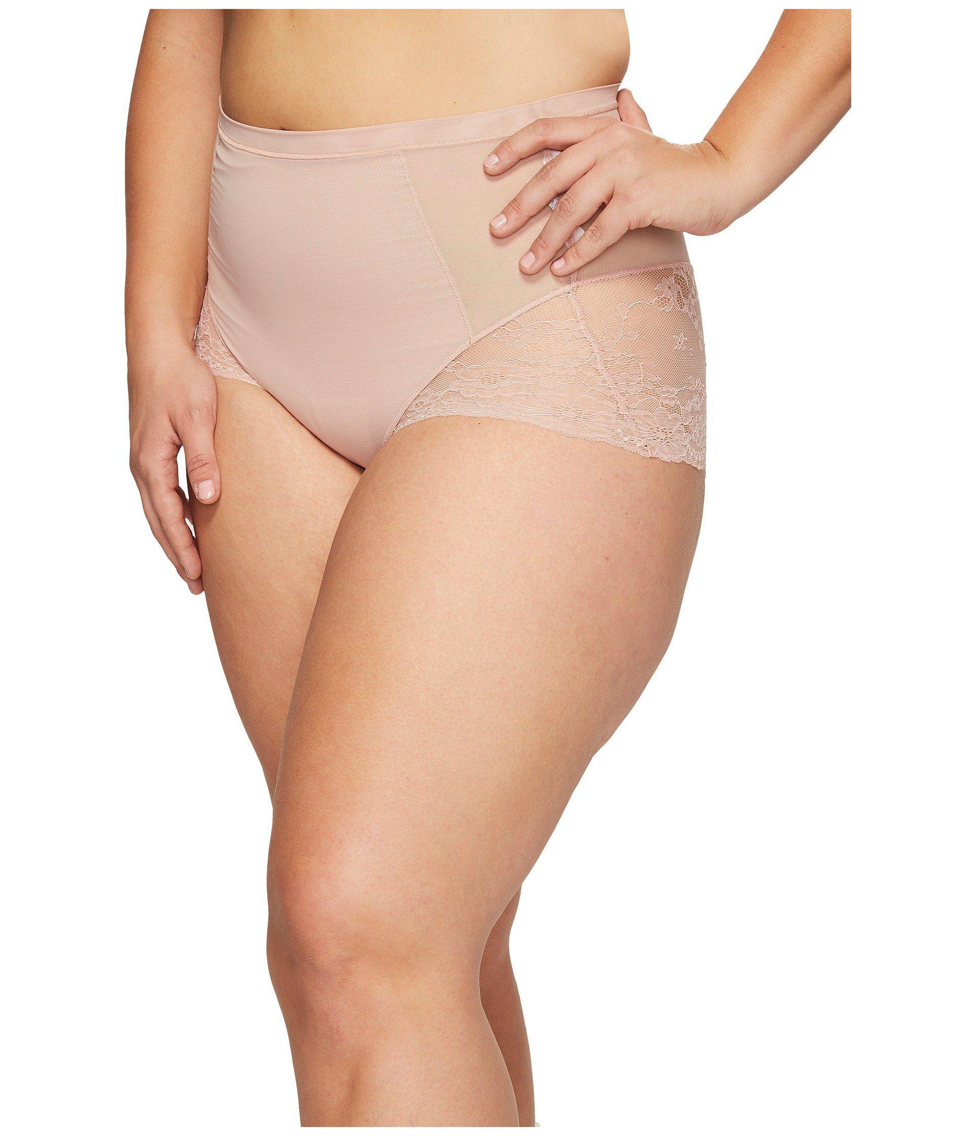 1974f0c9c4a Lyst - Spanx Plus Size Spotlight On Lace Brief (vintage Rose) Women s  Underwear
