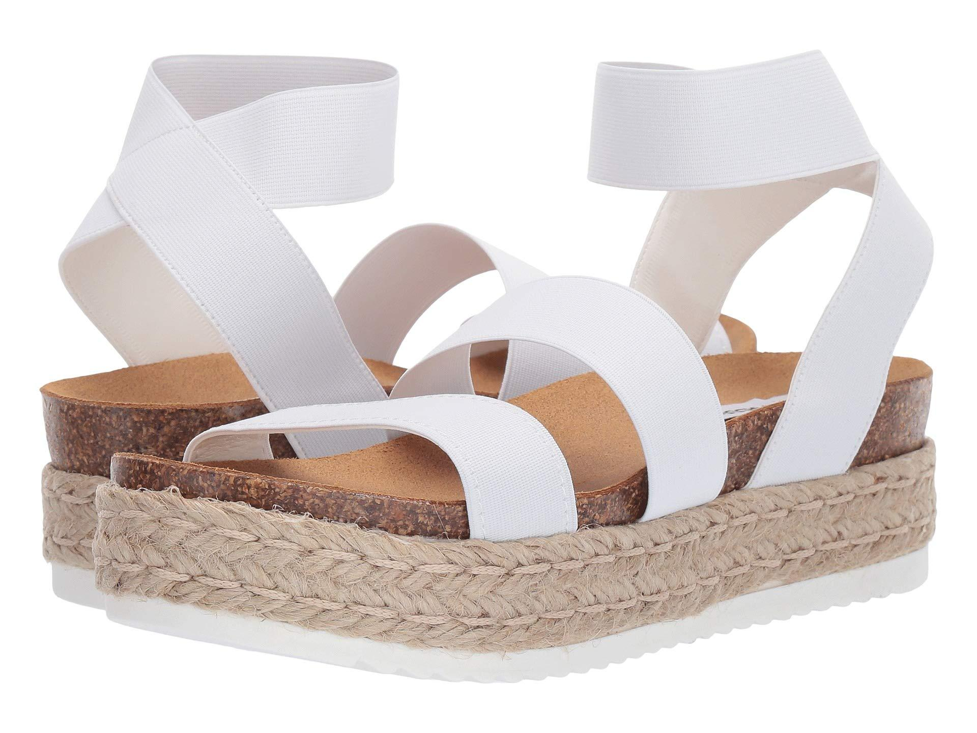 white kimmie sandals