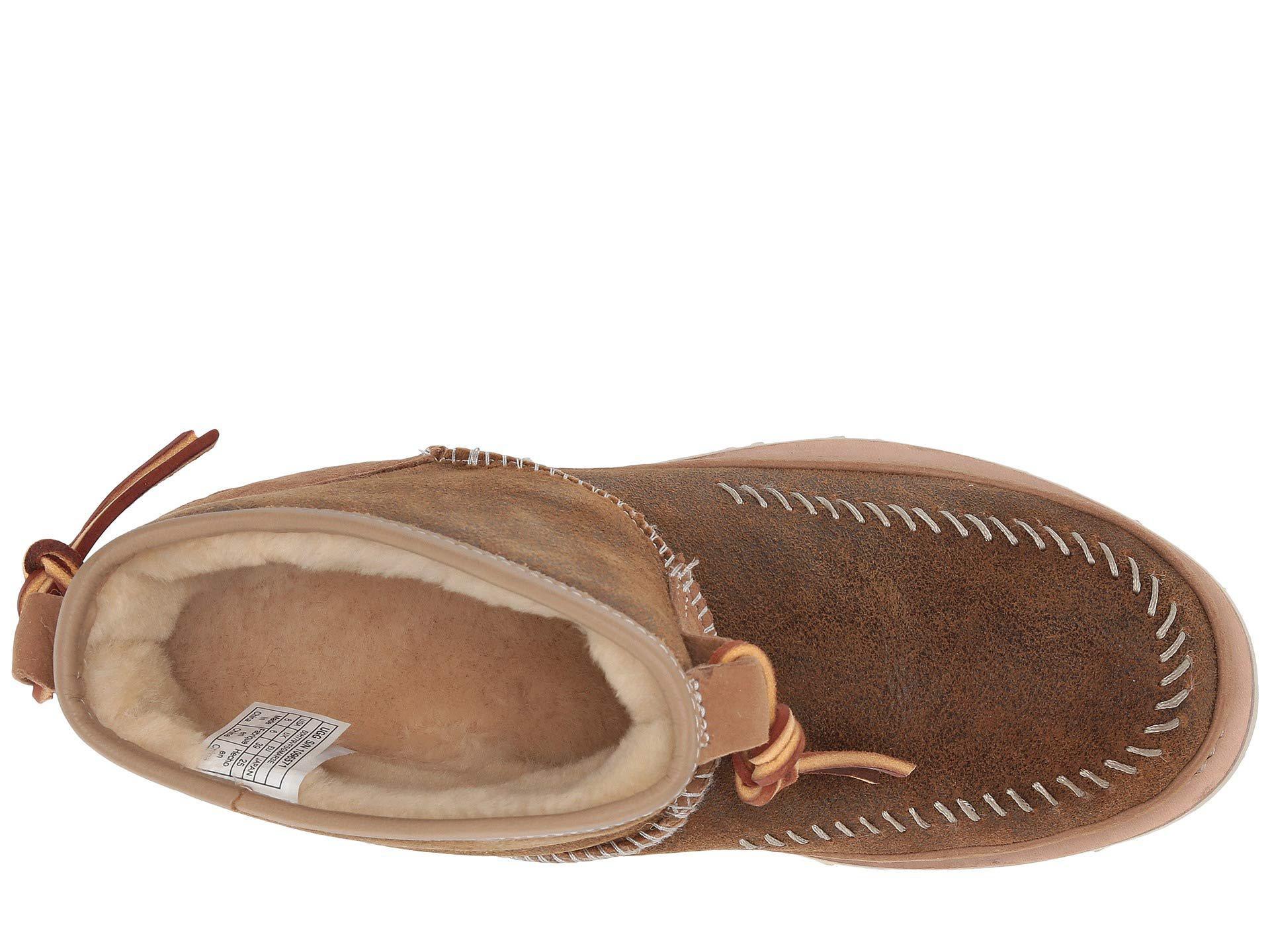 bebe83f90ab Brown Cali Moc Campfire (chestnut) Women's Boots
