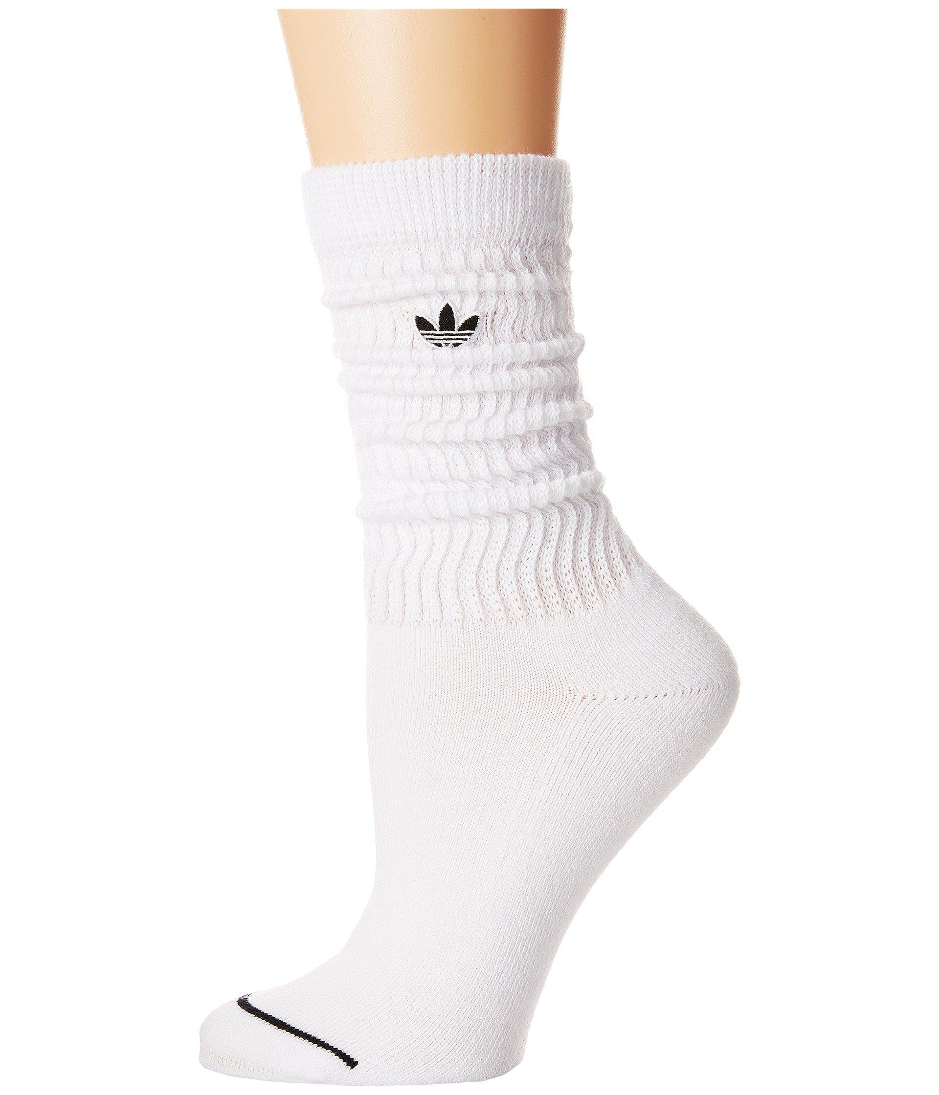 adidas Originals Synthetic Originals Slouch Single Crew Sock in ...