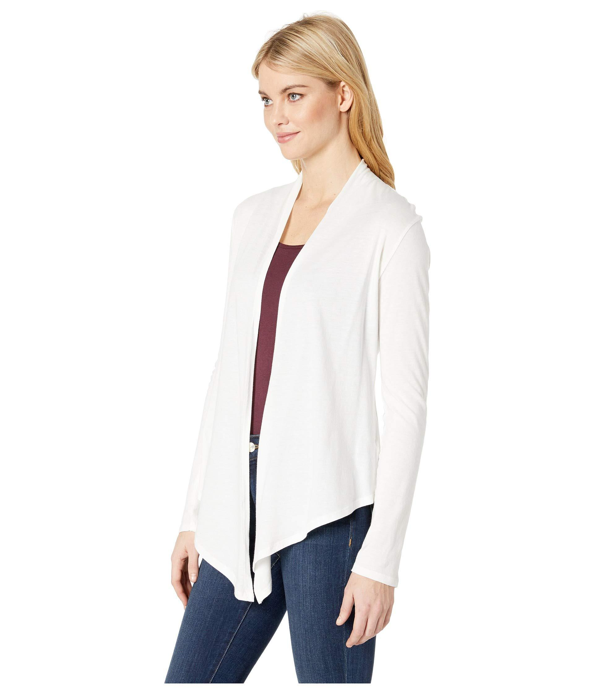 Details about  /Alternative Cotton Modal Stevie Long Sleeve Sweater Wrap