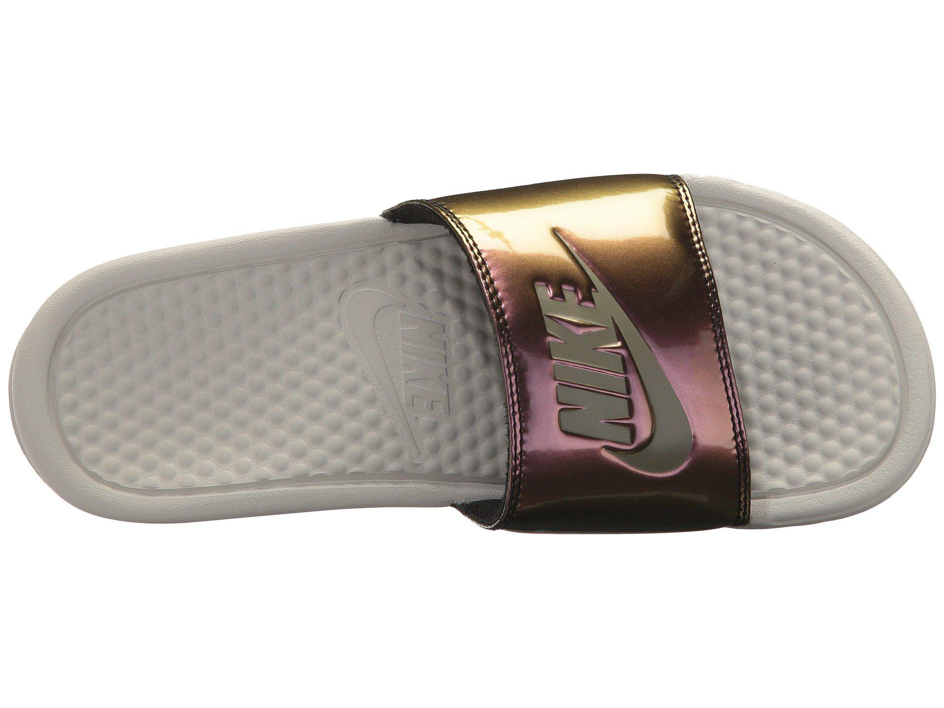 a295bd44645e Lyst - Nike Benassi Jdi - Iridescent