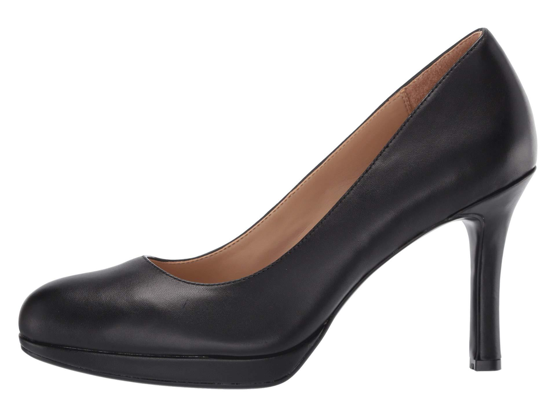 529e1c8b984 Naturalizer Celina (black Leather) Women's 1-2 Inch Heel Shoes in ...
