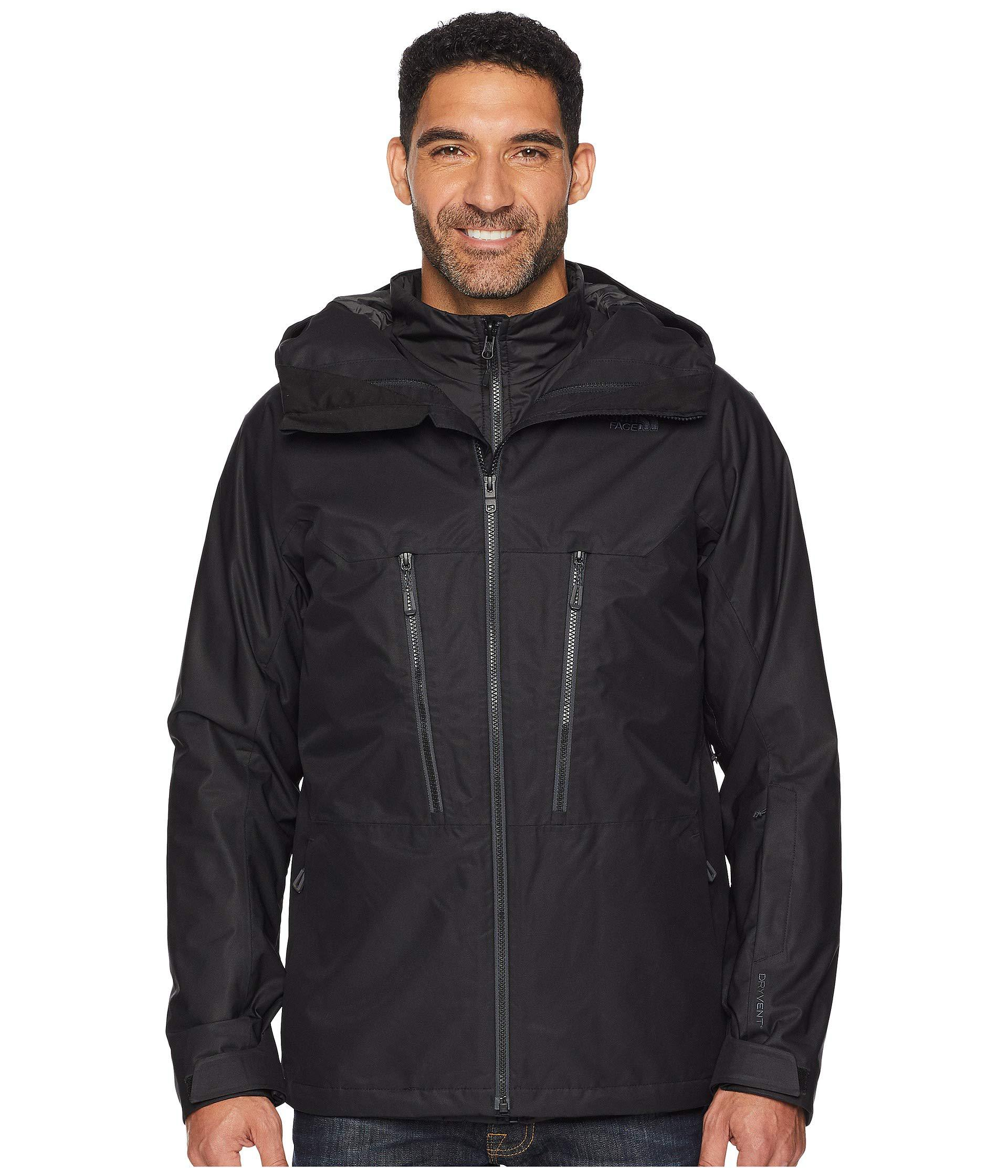 475bfbc3b1 The North Face. Black Thermoballtm Snow Triclimate(r) Jacket (leopard  Yellow) Men s Coat