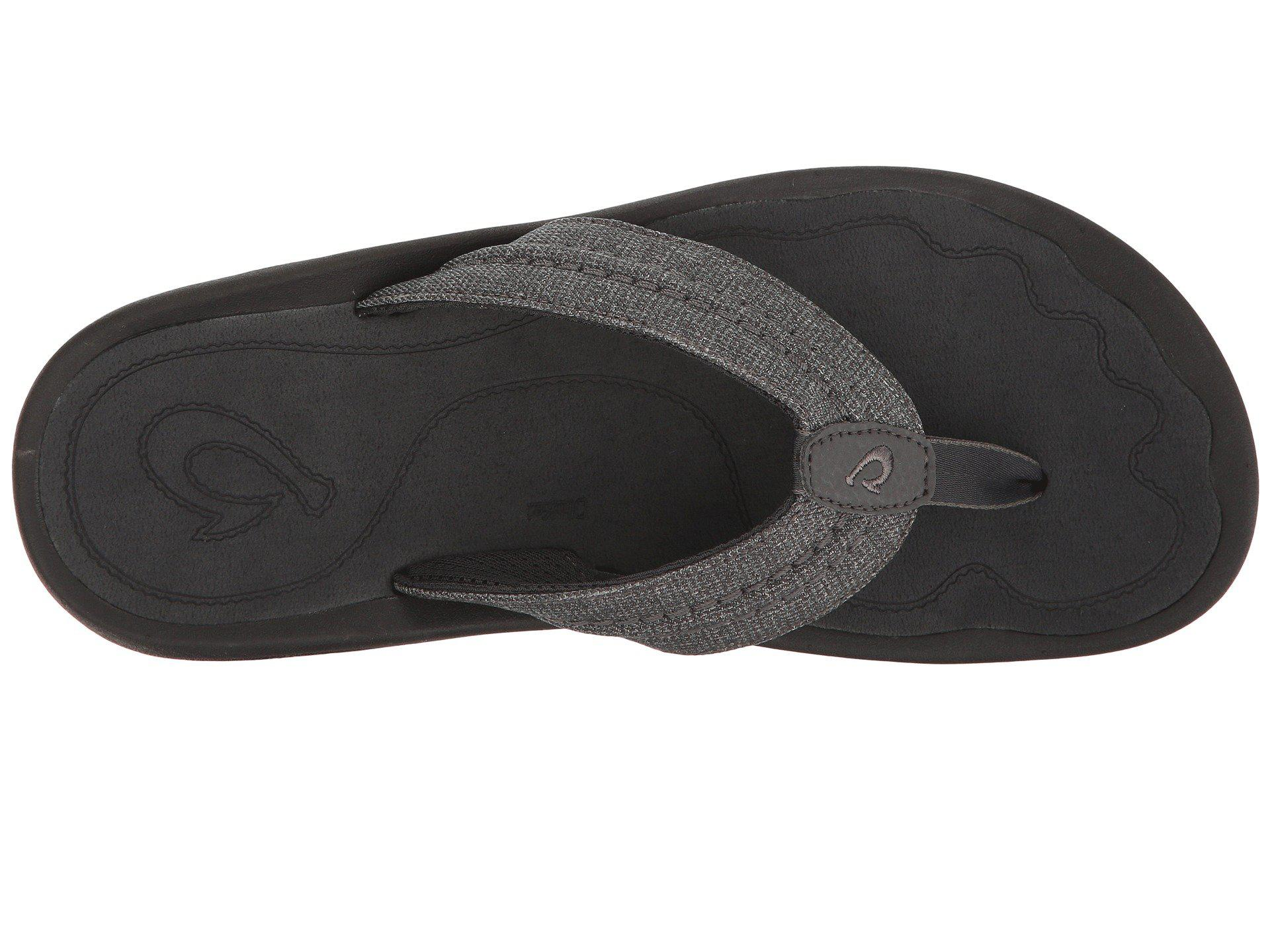 72e2f89dc544 Olukai - Black Hokua Mesh (dark Shadow) Men s Sandals for Men - Lyst. View  fullscreen