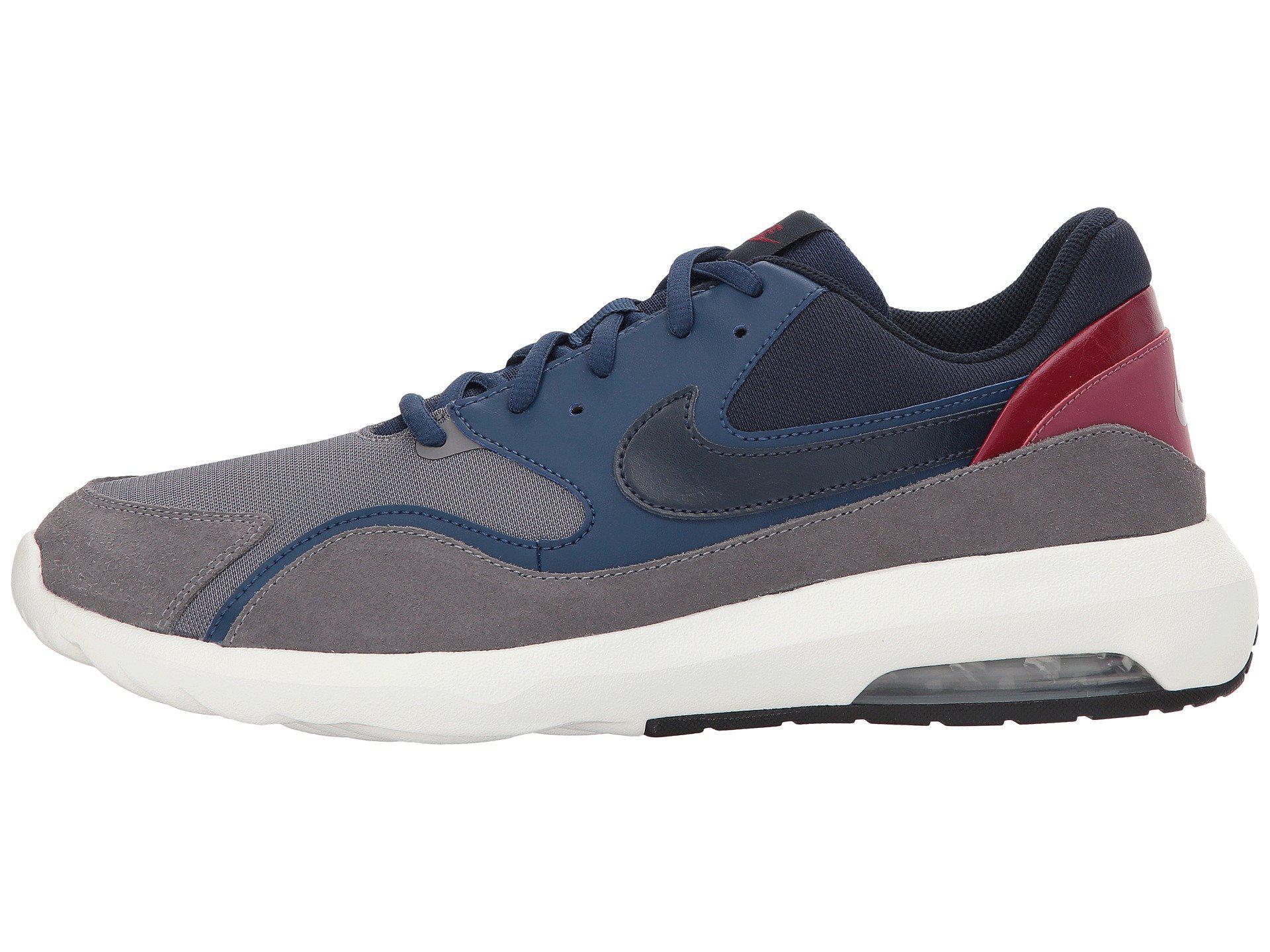Air Max Nostalgic (gunsmokeobsidiannavyvintage Wine) Men's Running Shoes