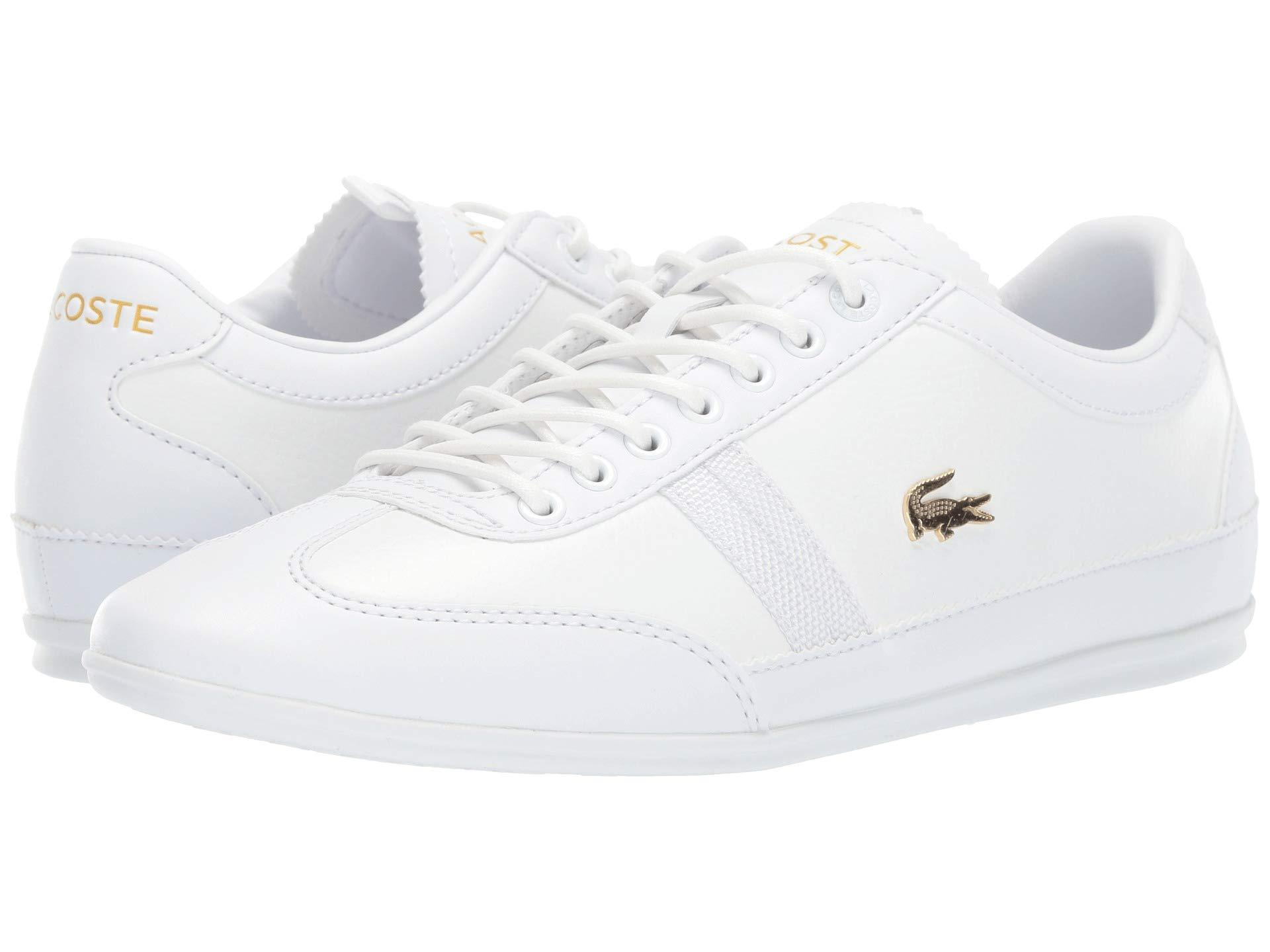 f7ee49066 Lyst - Lacoste Misano 119 1 U Cma (white white) Men s Shoes in White ...