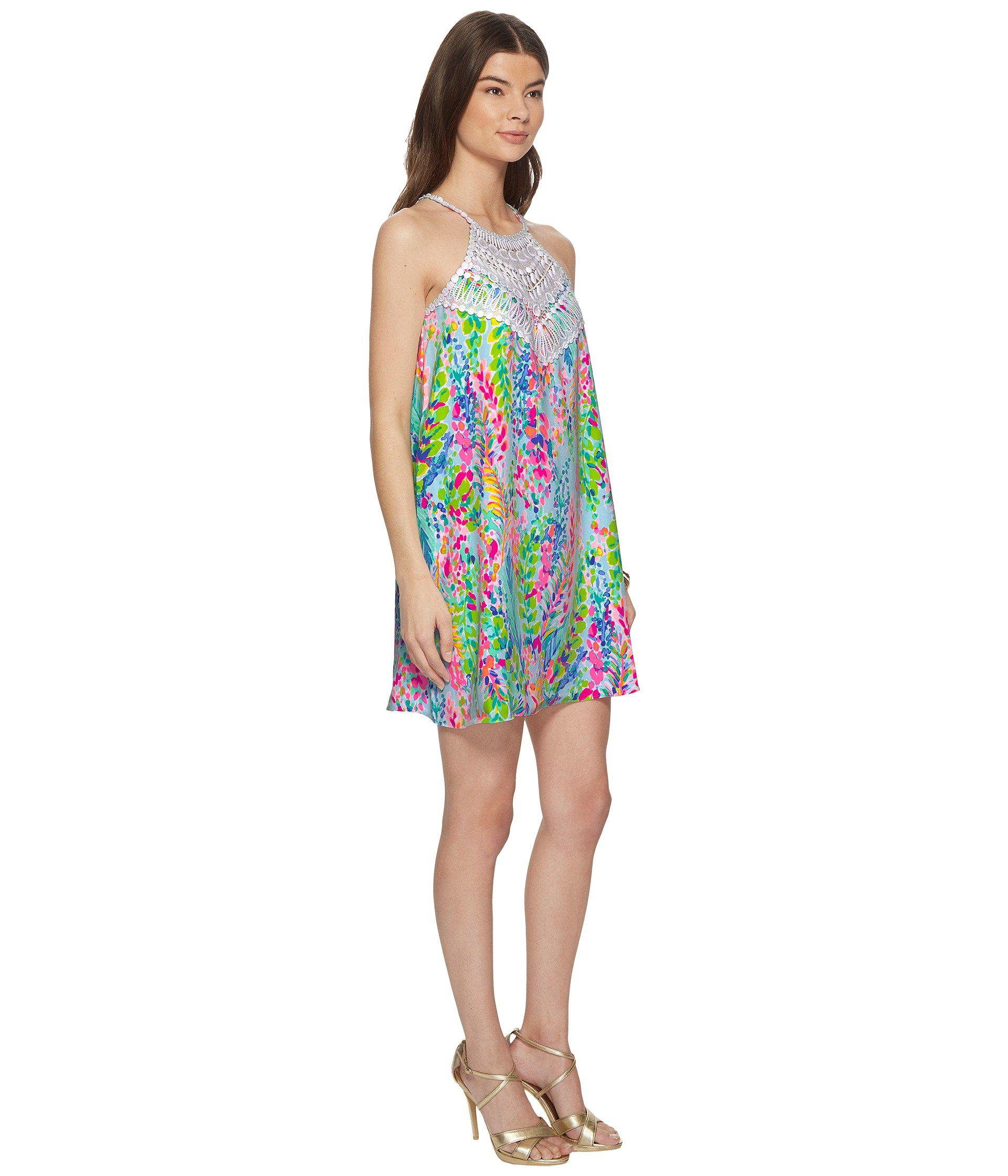 c00d4b6892d Lyst - Lilly Pulitzer Pearl Soft Shift (multi Catch The Wave ...