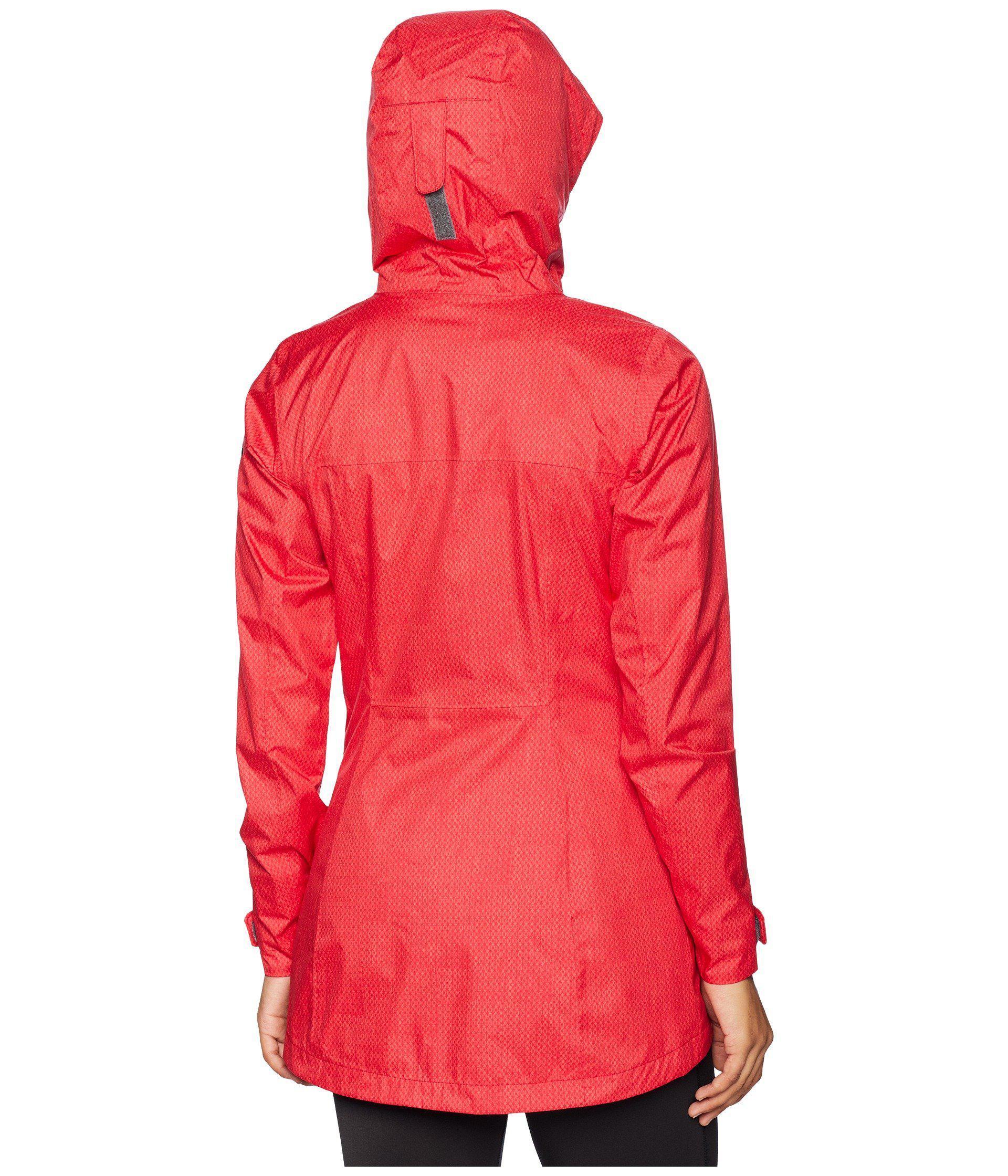 4220eab6e Women's Splash A Little Ii Rain Jacket (red Mercury Stars Print) Coat