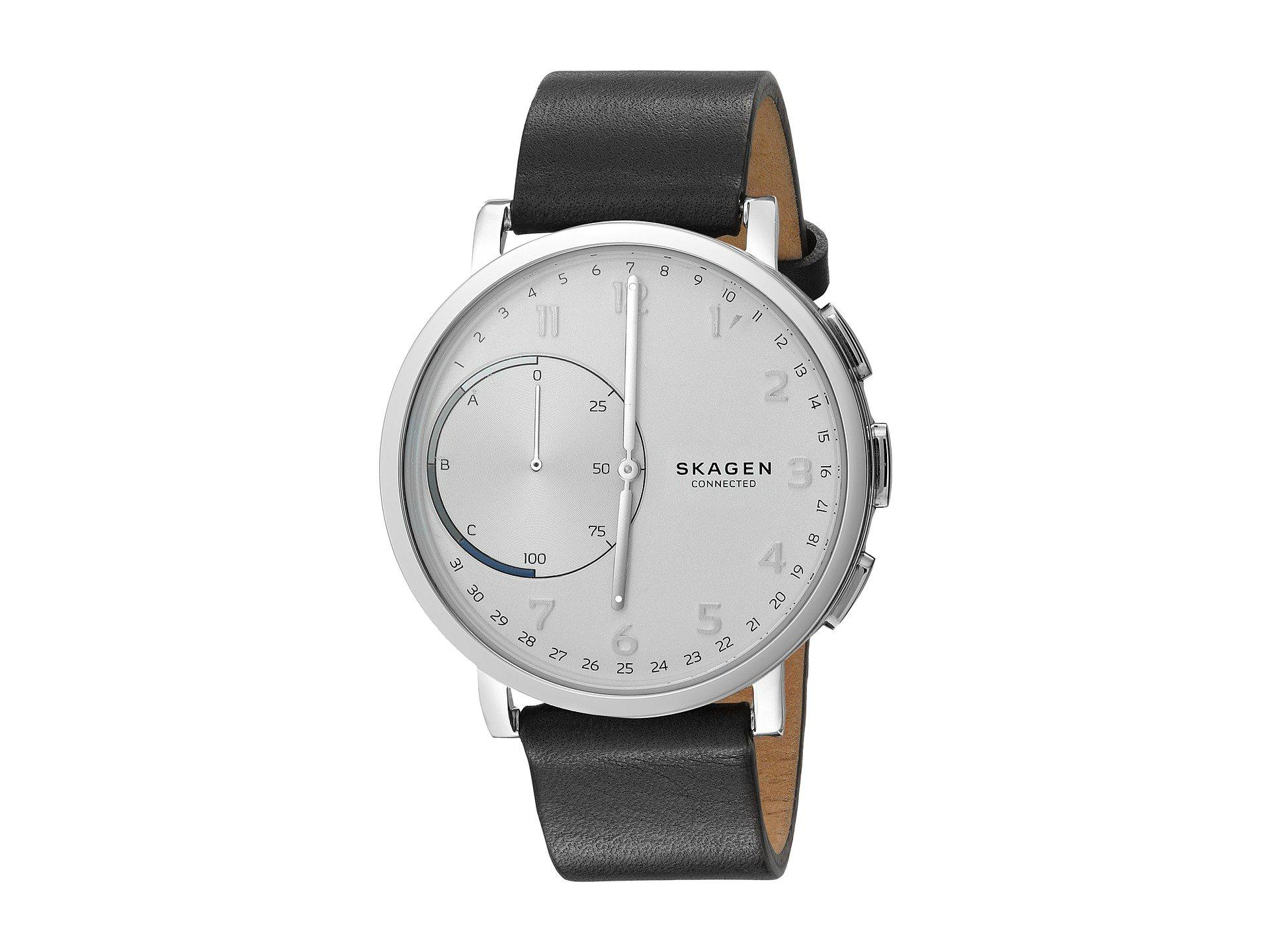 watches in hagen fullscreen skagen view silver accessories metallic lyst