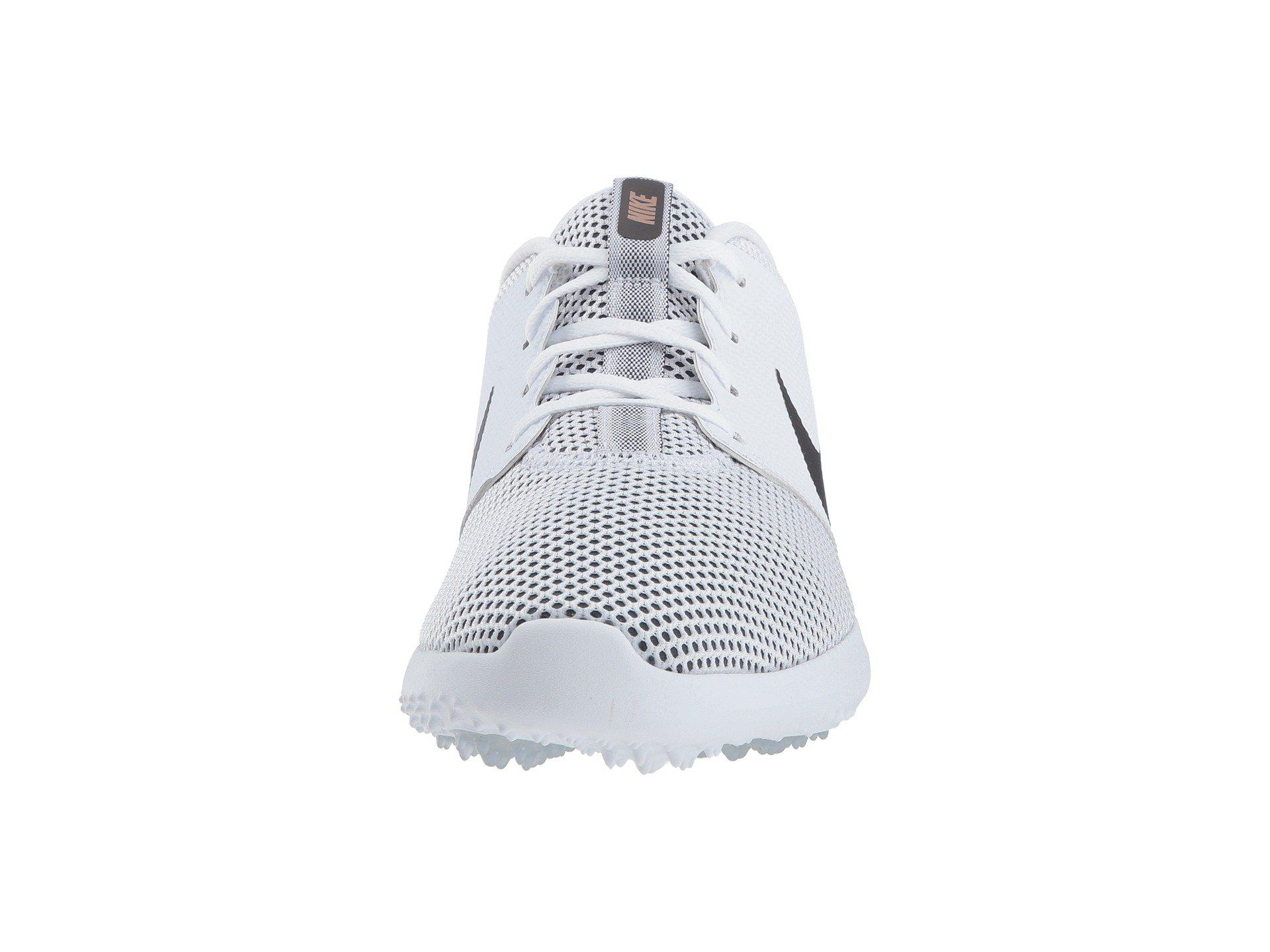 Nike Multicolor Roshe G (blackwhite) Men's Golf Shoes for men