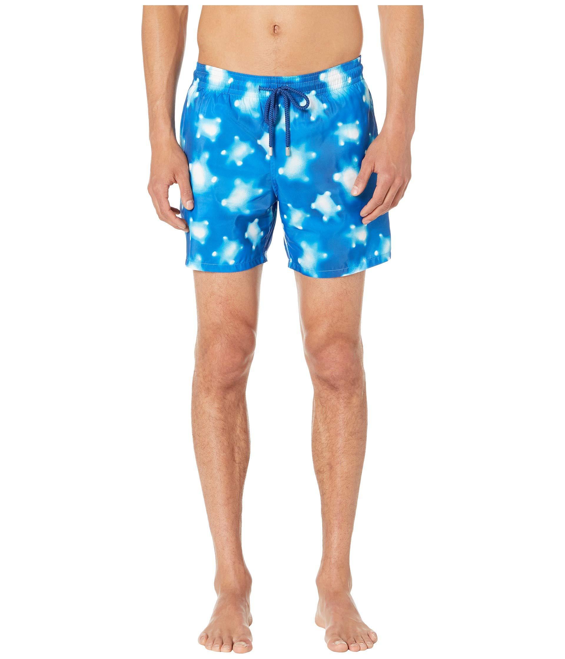 a250e890bf Vilebrequin - Mahina Crystal Turtles Light Fabric Swim Trunks (blue) Men's  Swimwear for Men. View fullscreen