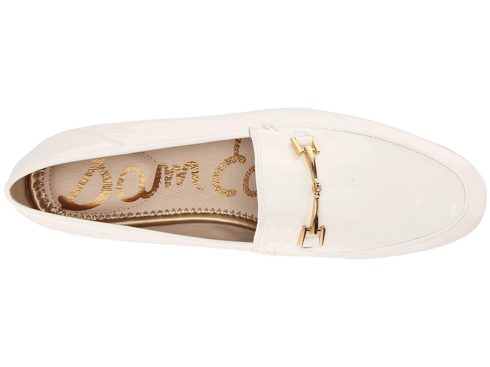 a69db44e4da6 Sam Edelman. Women s White  loraine  Horsebit Leather Step-in Loafers