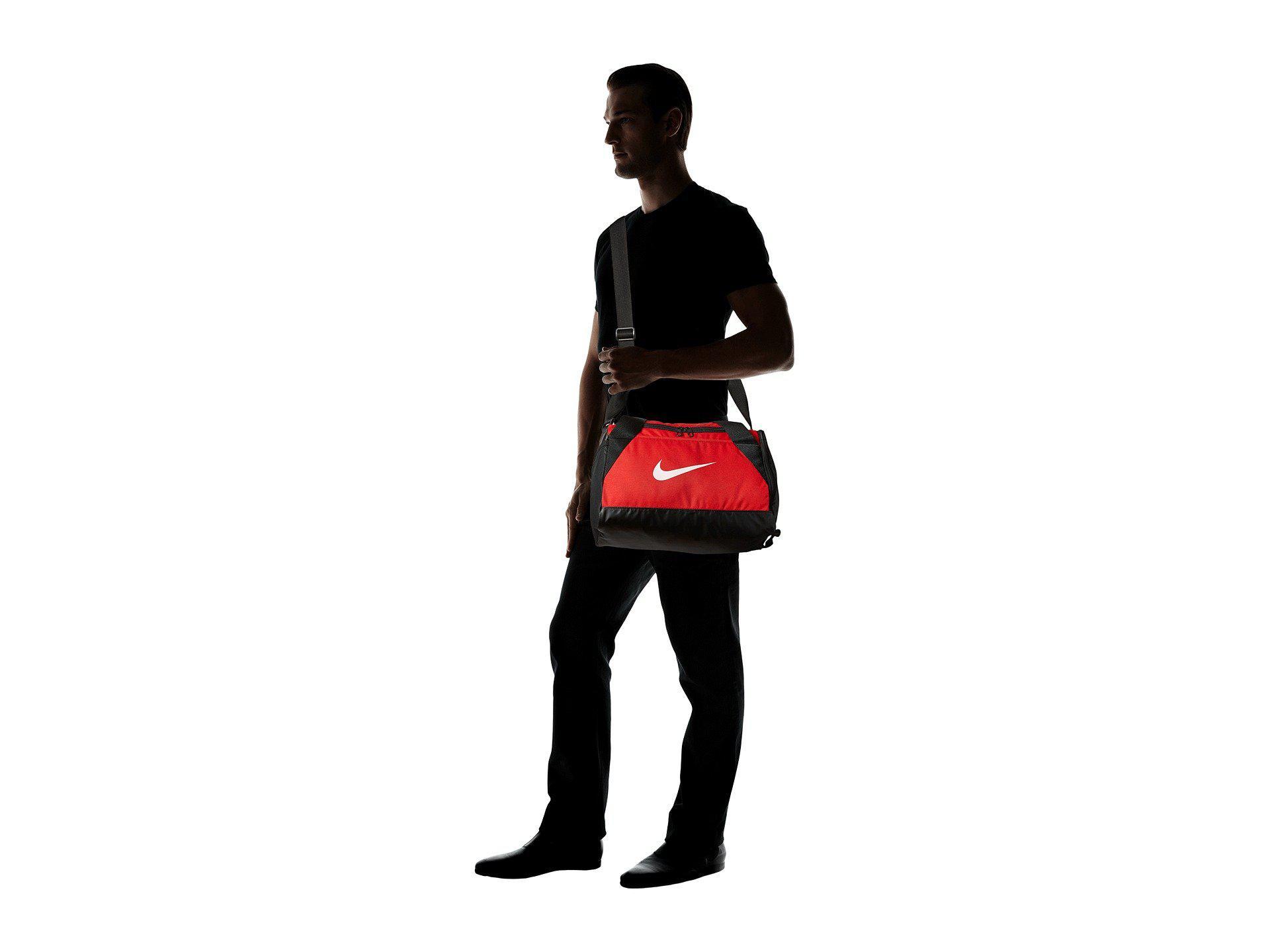 Lyst - Nike Brasilia Duffel Extra Small (game Royal black white ... ebe98213a266