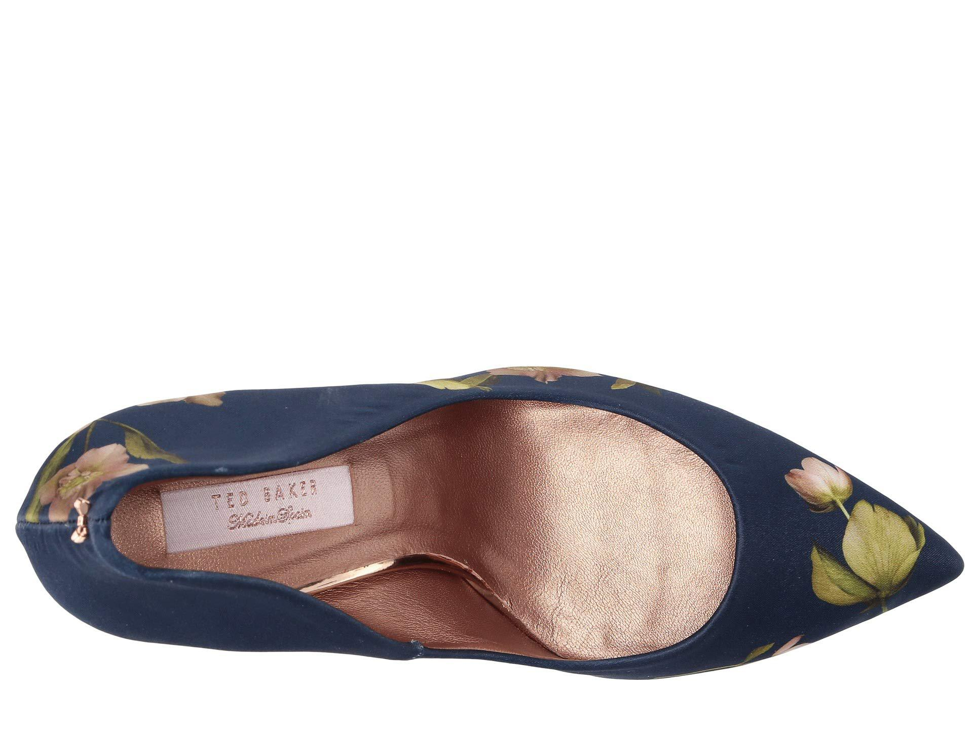 1fee86f5fa378 Ted Baker - Blue Saviop (navy Arboretem) High Heels - Lyst. View fullscreen