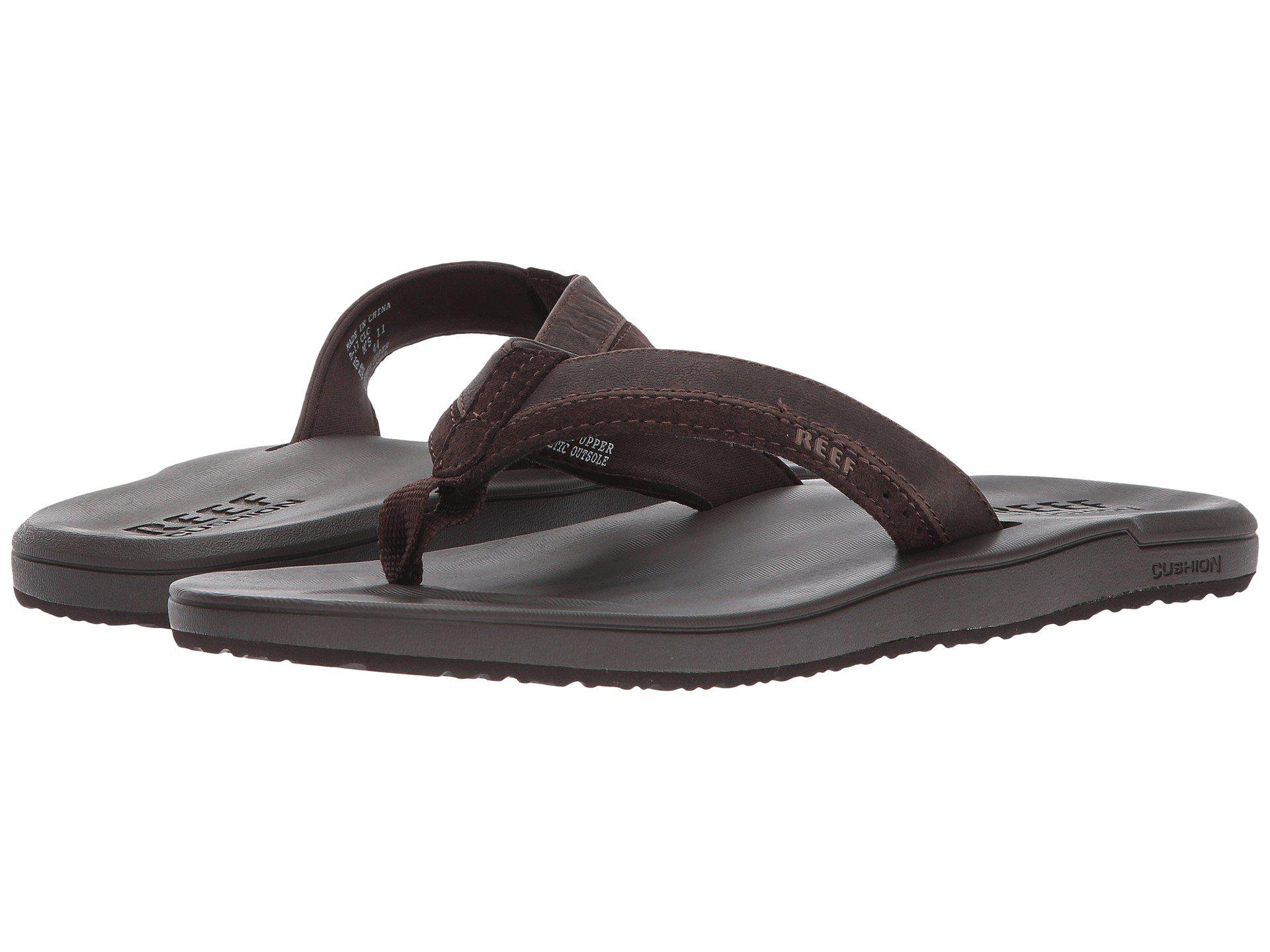 480ac5bf1214 Lyst - Reef Contour Cushion Le (brown) Men s Sandals in Brown for Men