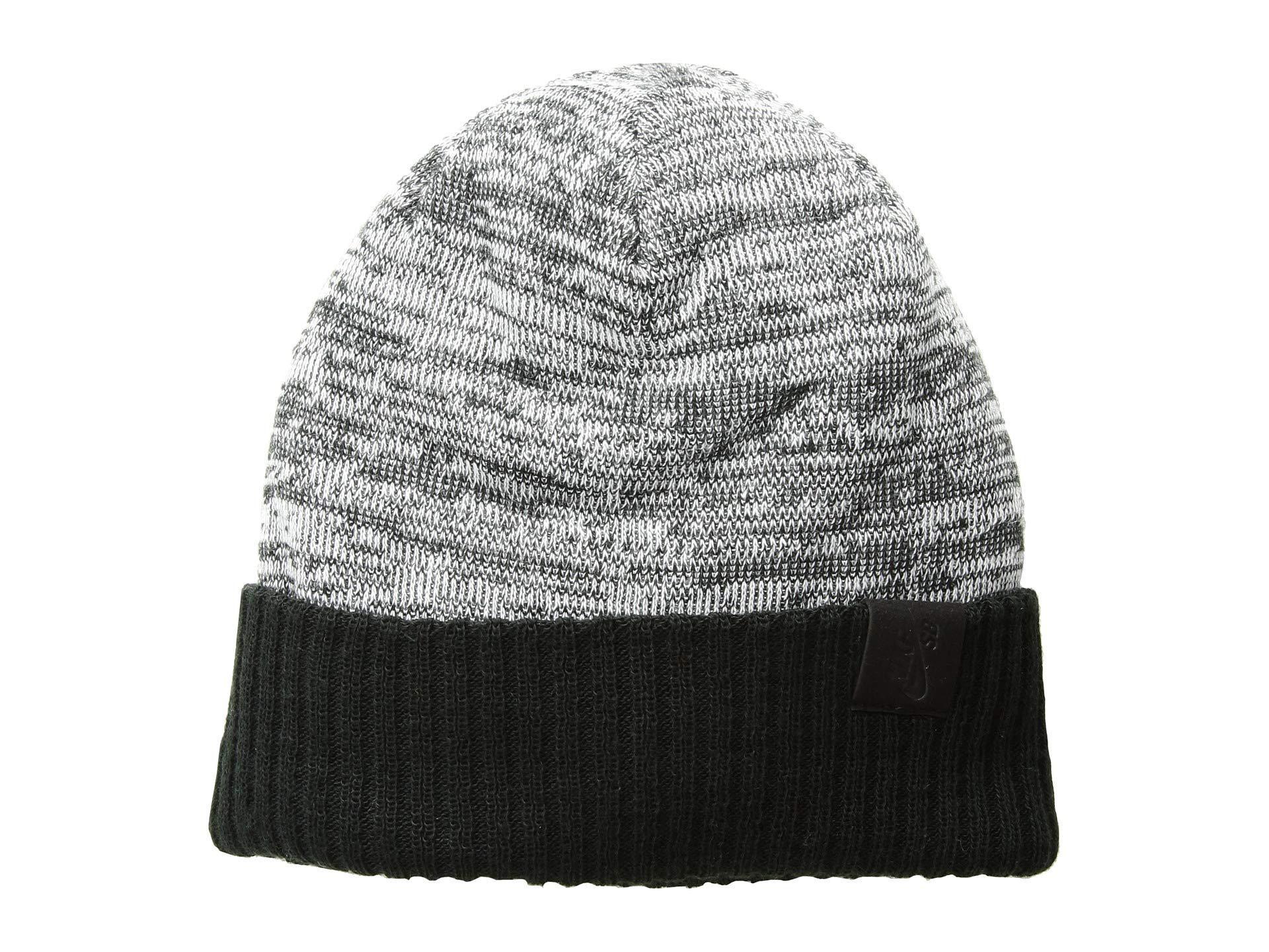 Lyst - Nike Beanie Seasonal (obsidian White black) Beanies in Black ... 70b457c45