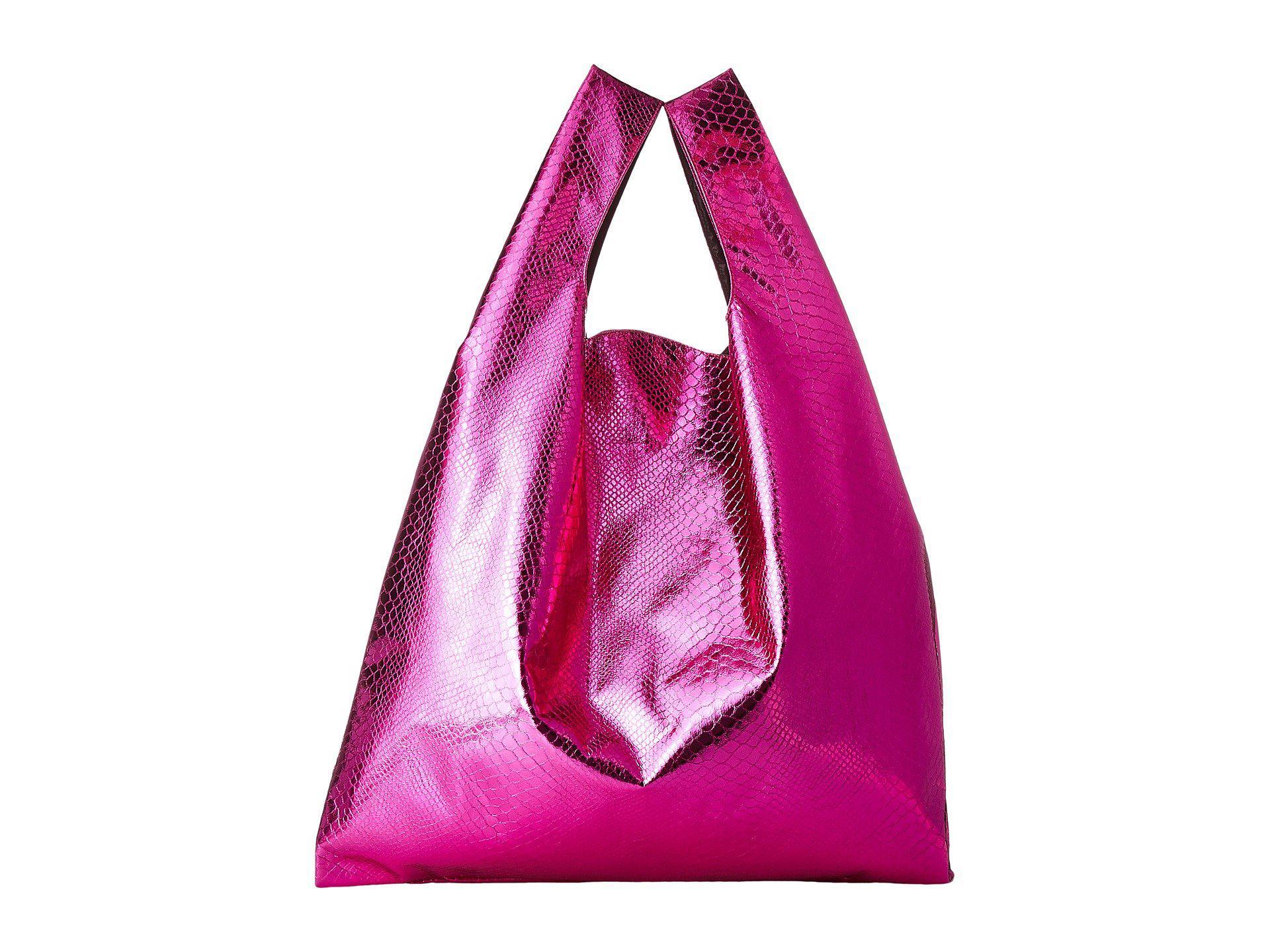 Maison Martin Margiela Lame Snake Shopper (Pink) Handbags 2nI17VSGlr