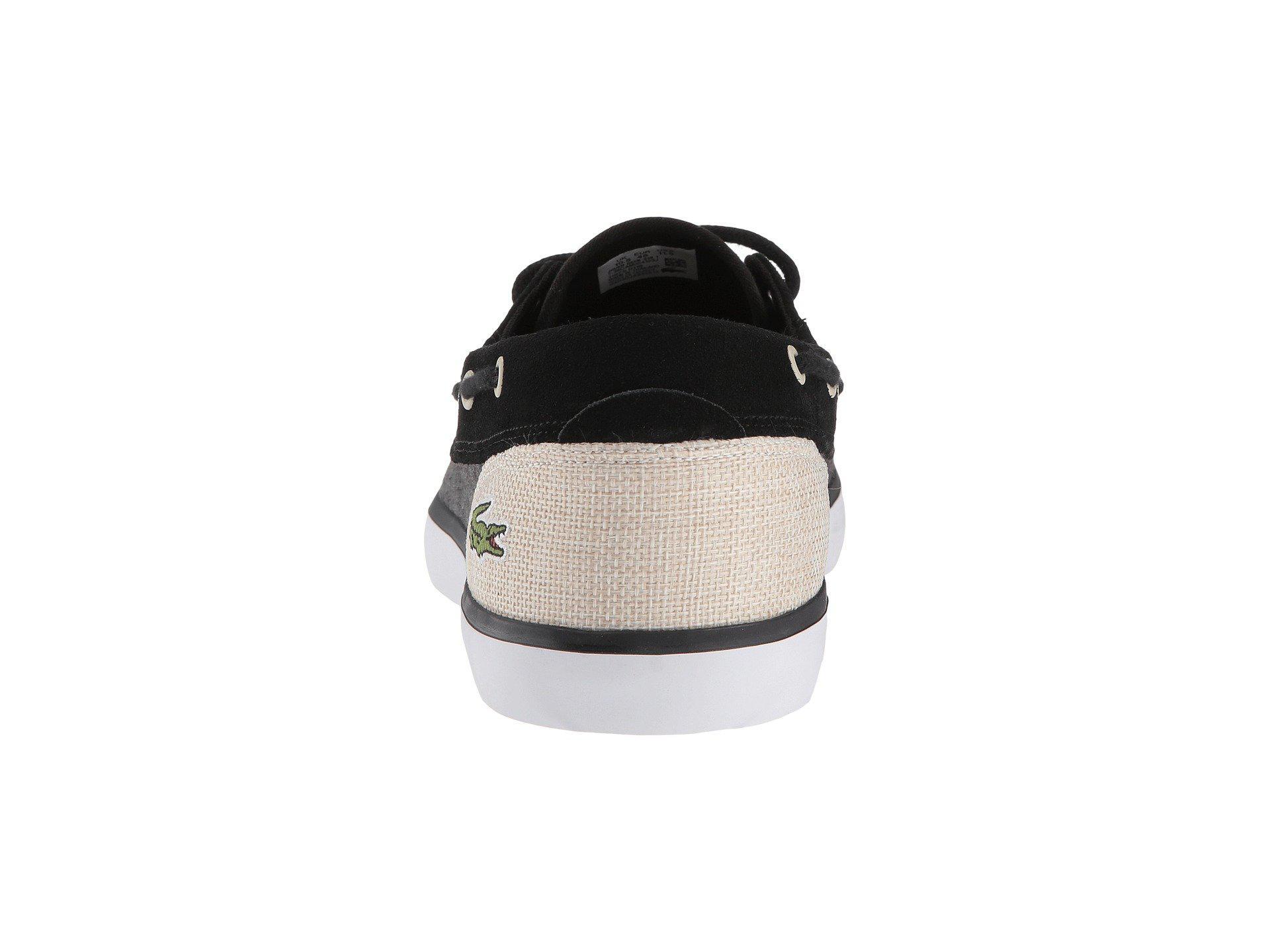 Lacoste Canvas Jouer Deck Sneaker in