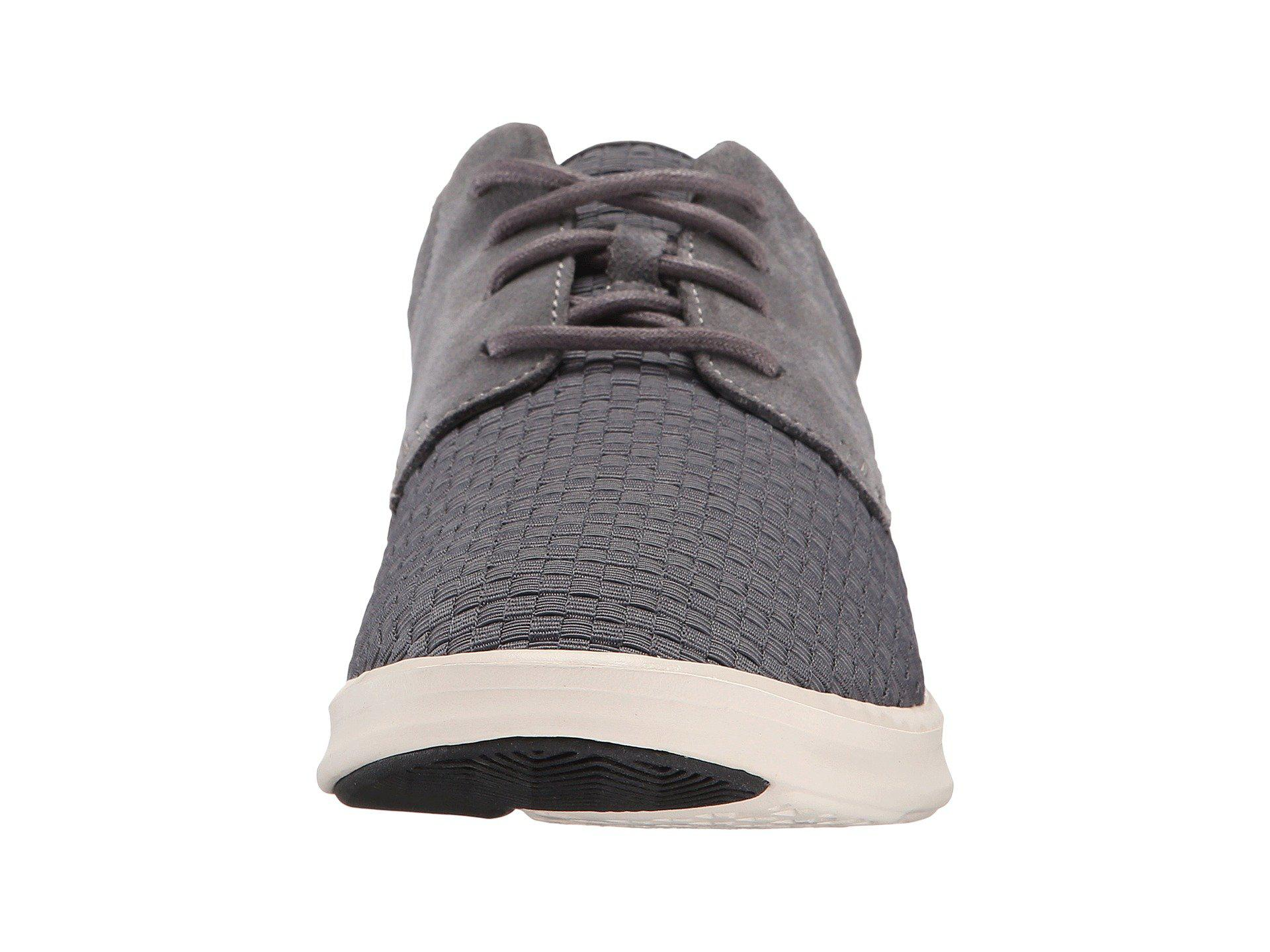 91c01dde8b7 Gray Hepner Woven (metal Nylon Suede) Men's Shoes