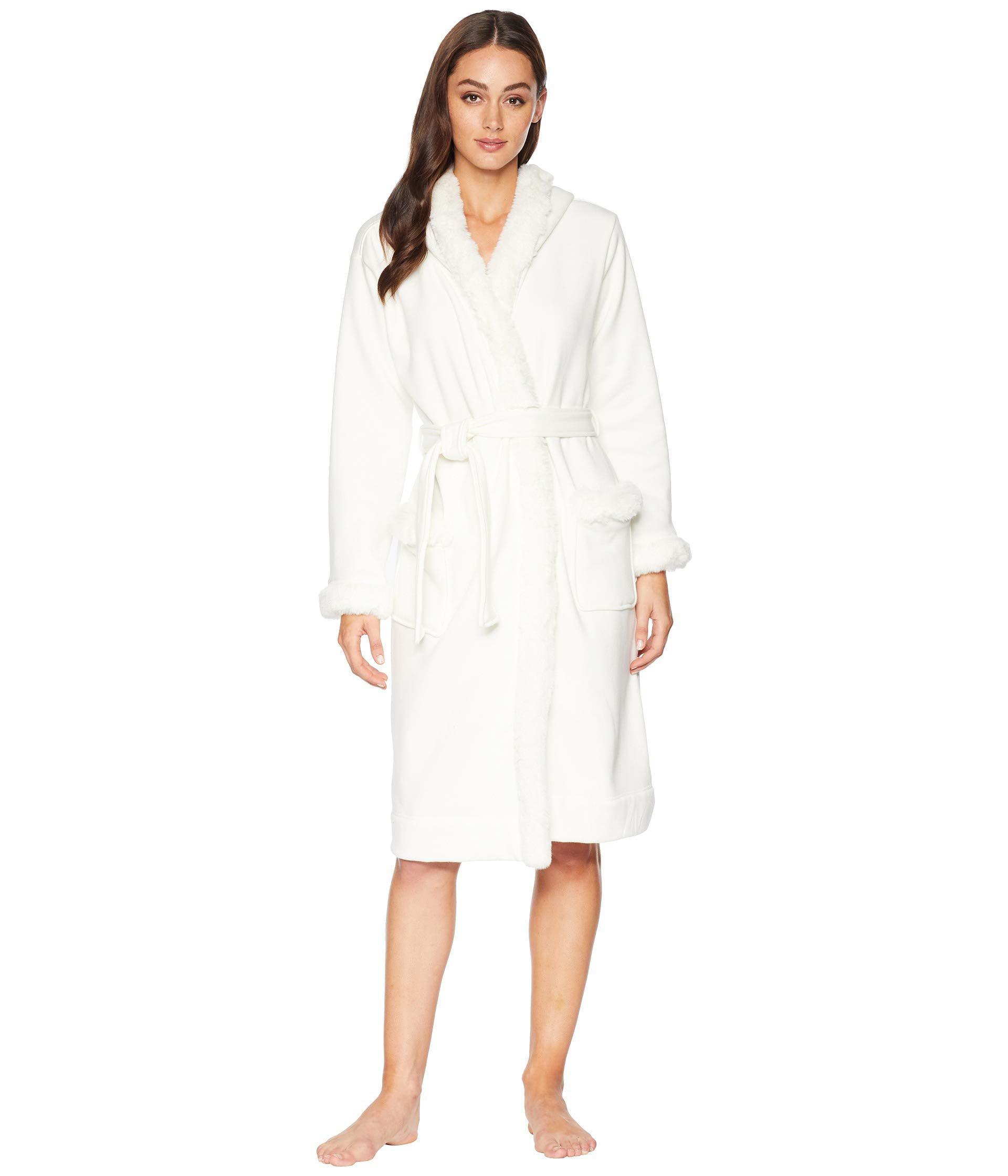 8c36e547ef7 White Duffield Deluxe Ii Robe (black) Women's Robe