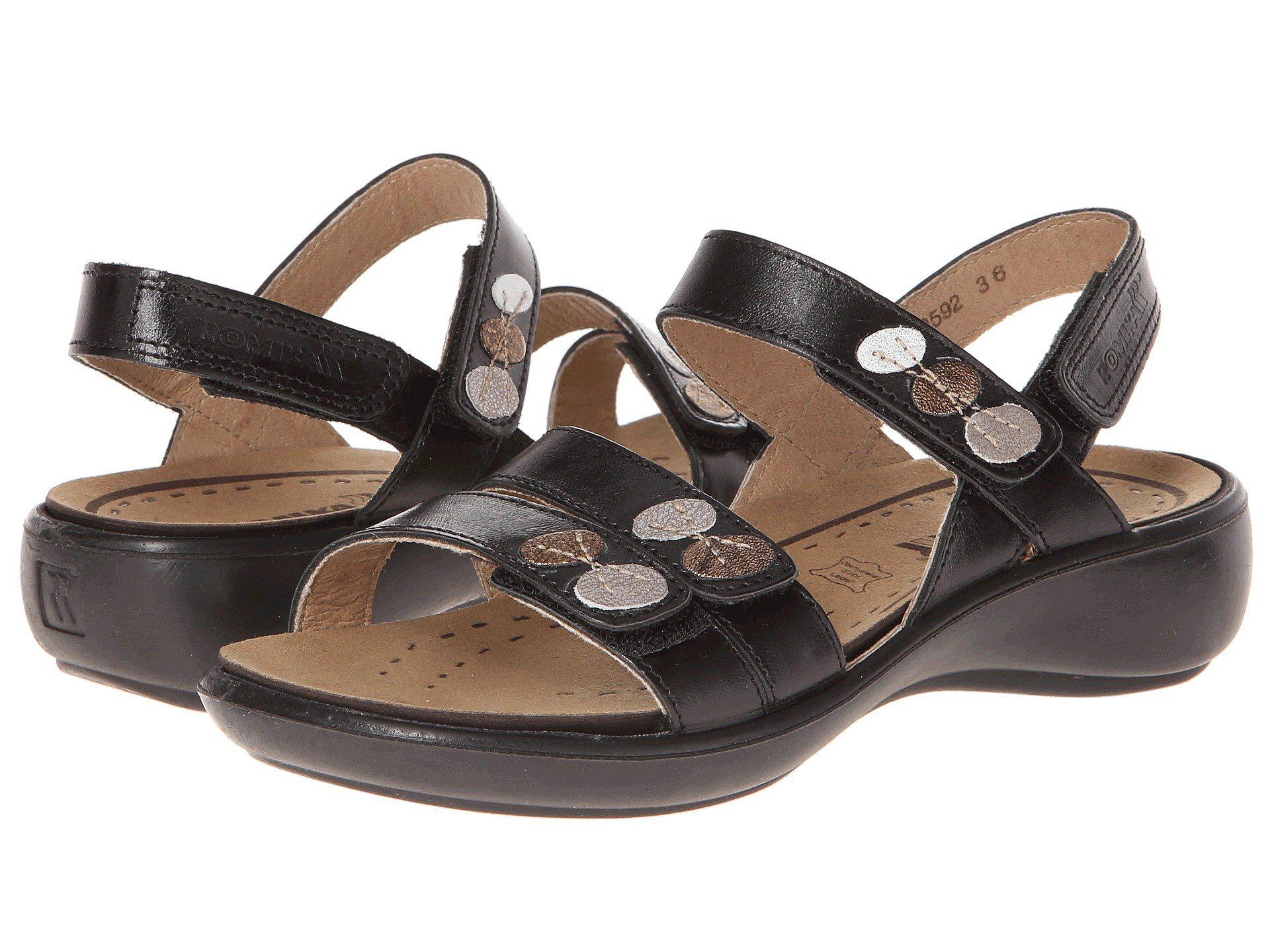 605ec220b172c Romika. Ibiza 55 (black) Women s Sandals.  120  54 From Zappos. Free  shipping ...
