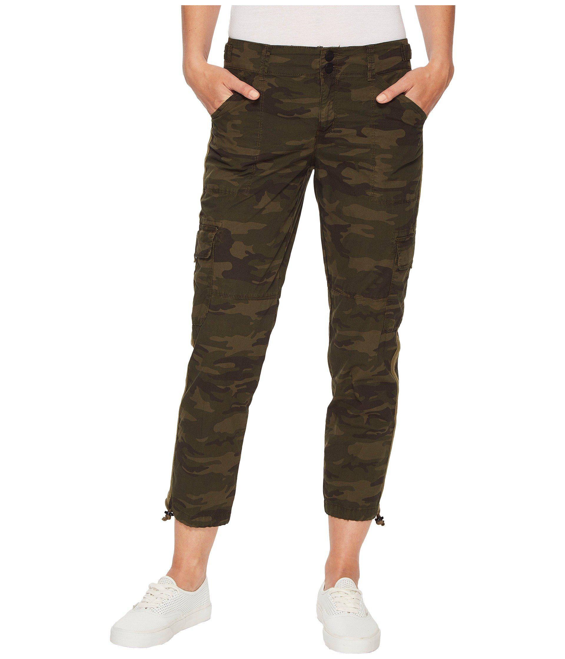 6030dce29ef8 Lyst - Sanctuary Terrain Crop Pants (mother Nature Camo) Women s ...