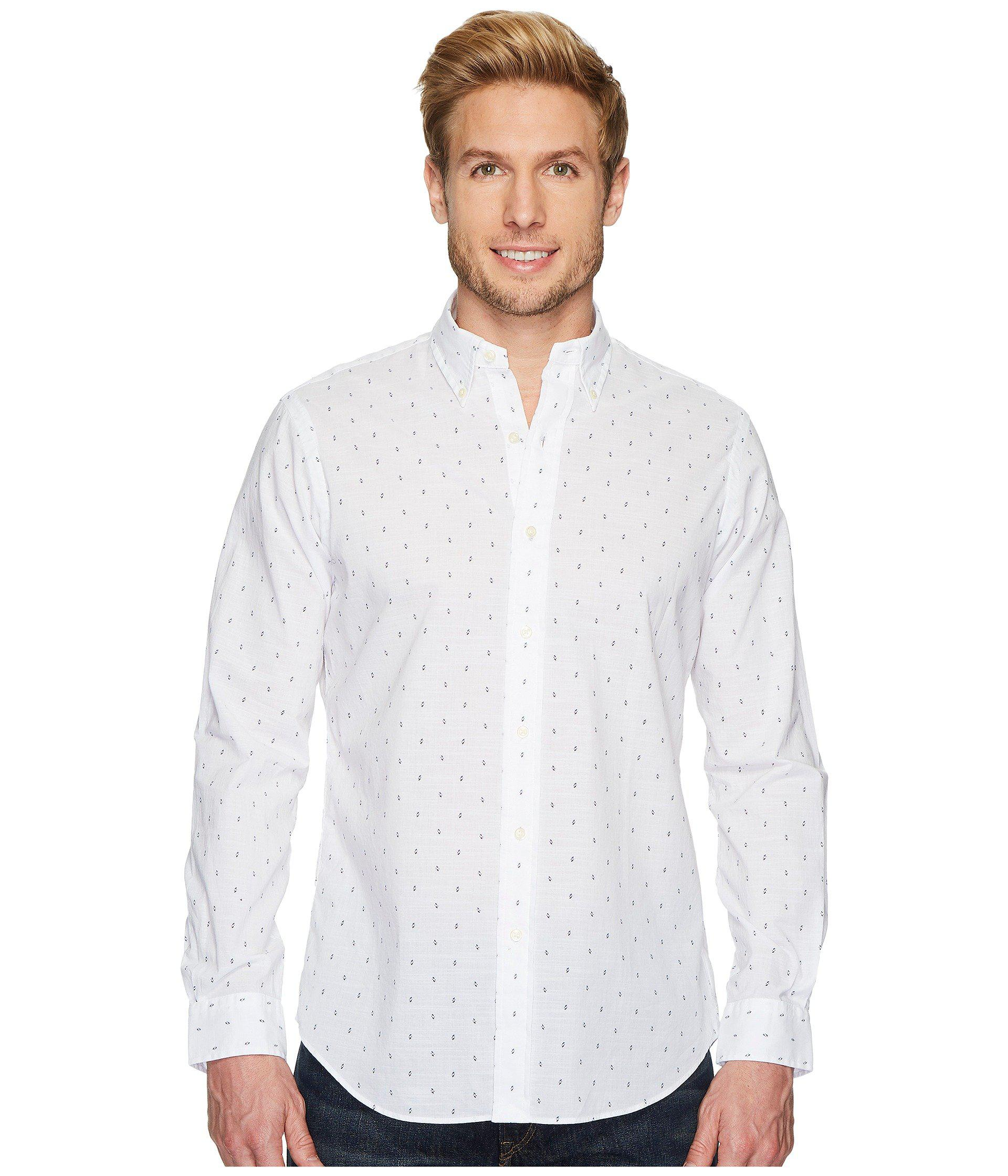 Lyst Polo Ralph Lauren Poplin Long Sleeve Sport Shirt White Arrow