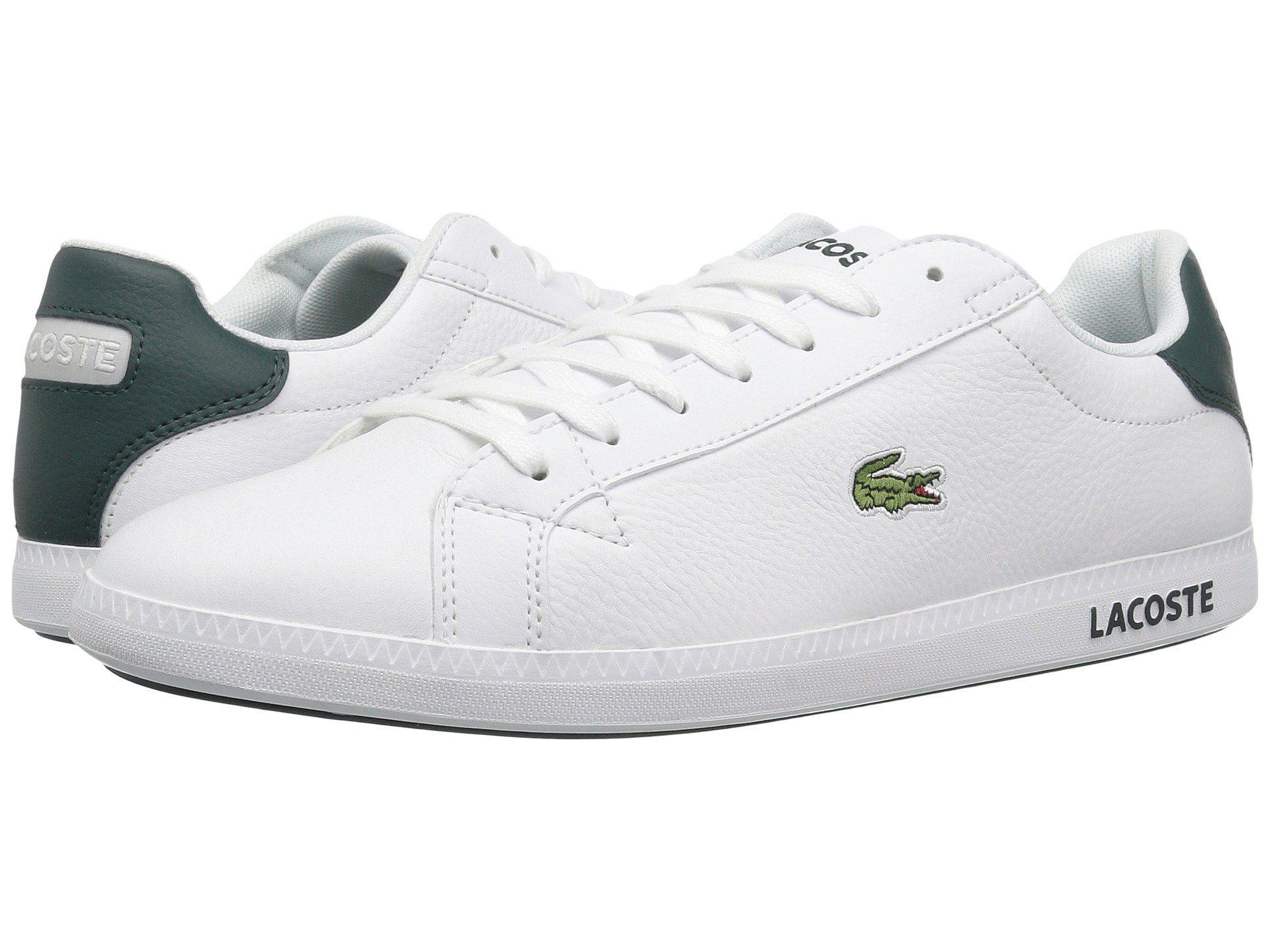 fe3067dc9c141 Lacoste - Graduate Lcr3 118 1 (white dark Green) Men s Shoes for Men. View  fullscreen