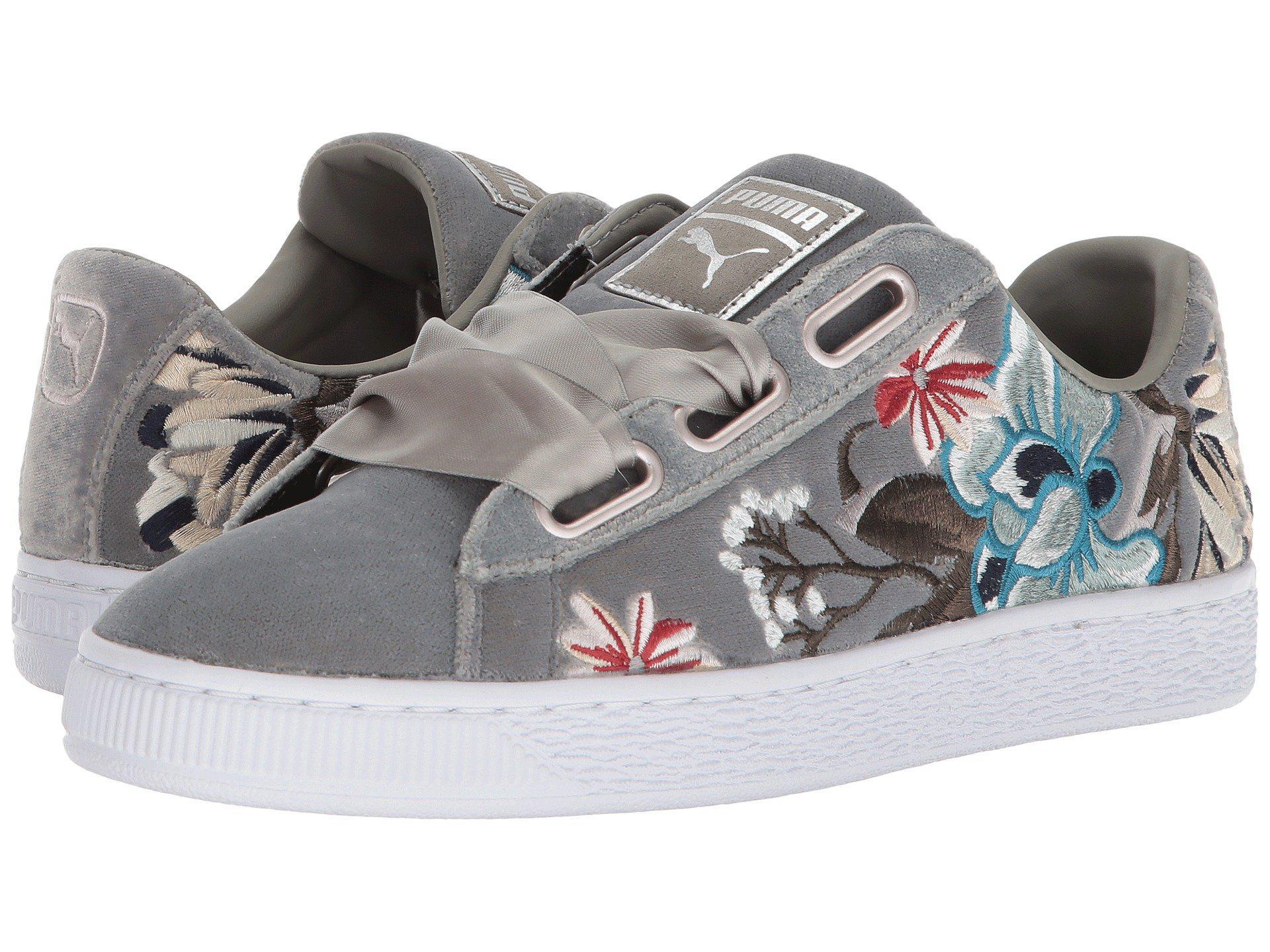 PUMA BASKET Heart heyper EMB Rock Ridge Sneaker Scarpe