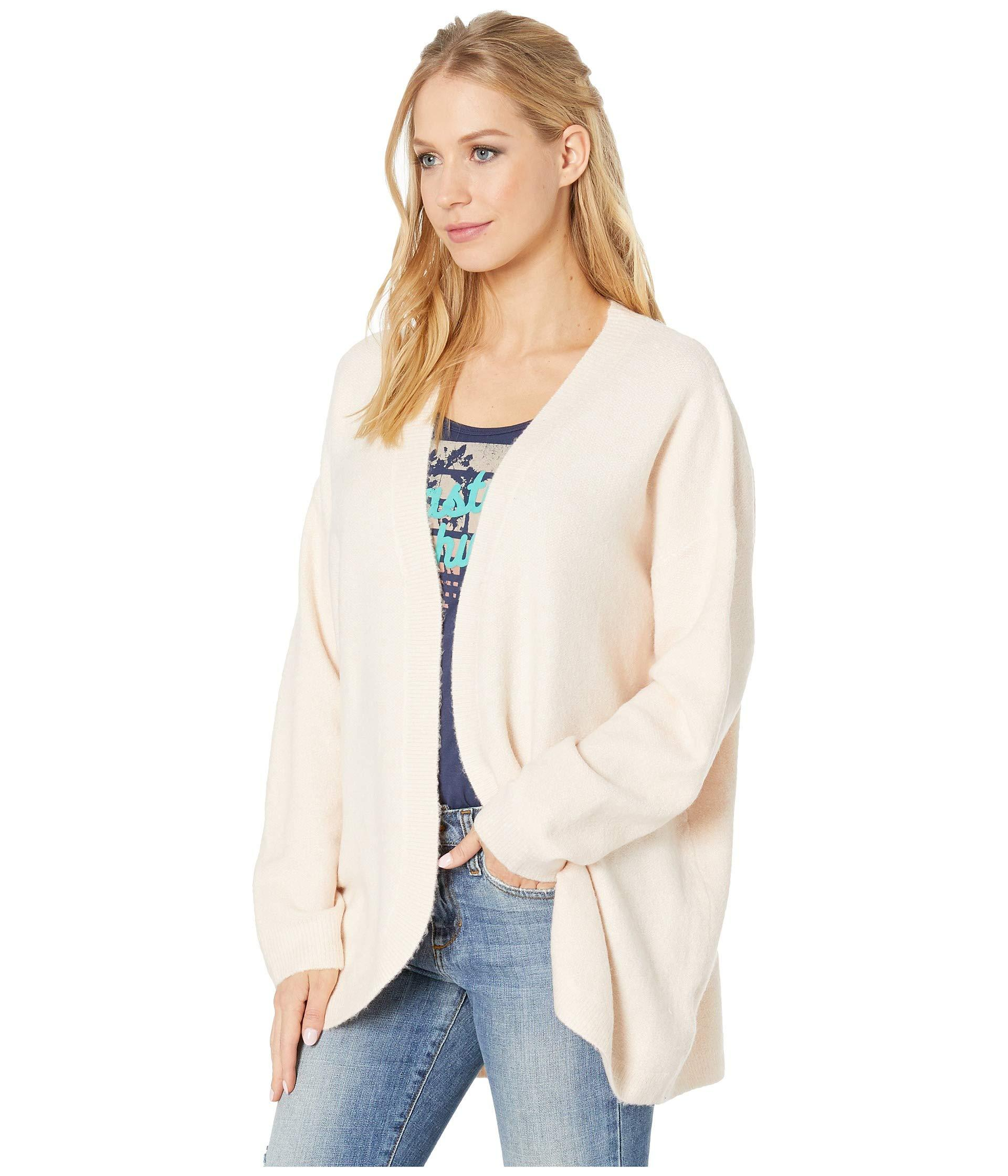 Lyst - Roxy Delicate Mind Cardigan (cloud Pink) Women s Sweater in Pink -  Save 1% a1c2157b5