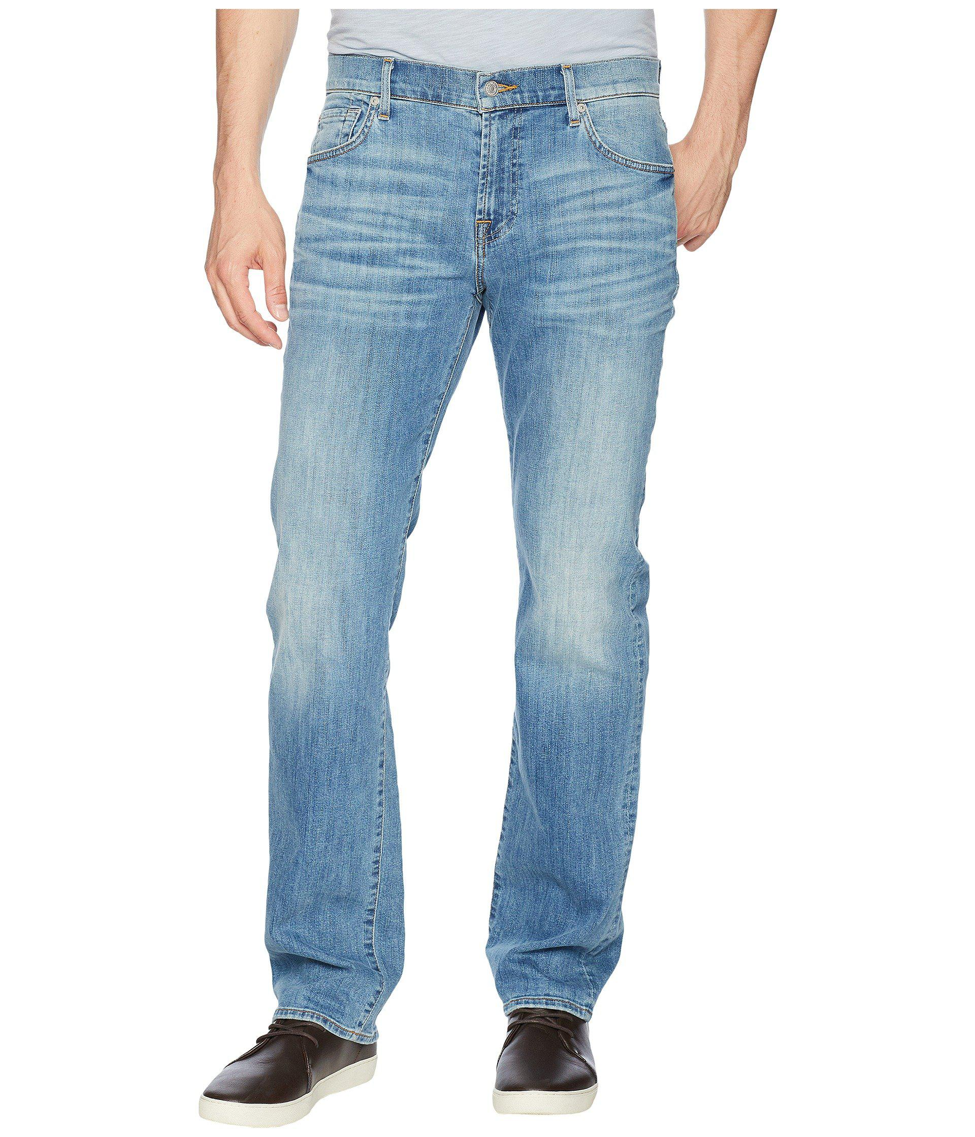 7 For All Mankind Men/'s Standard Classic Straight Leg Jeans Metropolitan Dark