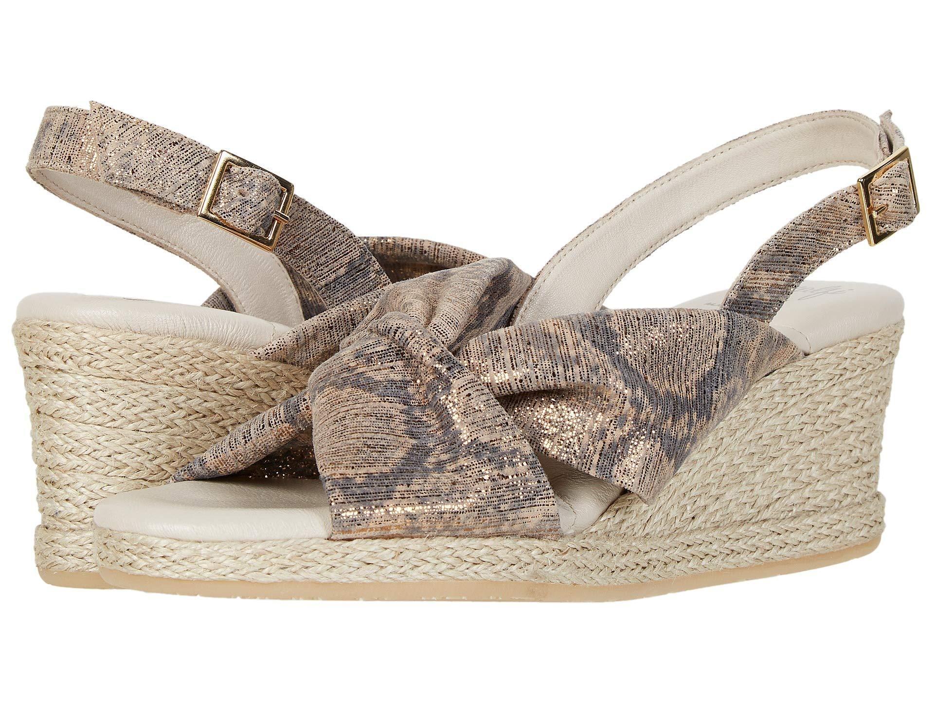 06121aeb0 Lyst - Amalfi by Rangoni Laerte (bronzo Animal Suede) Women s Shoes