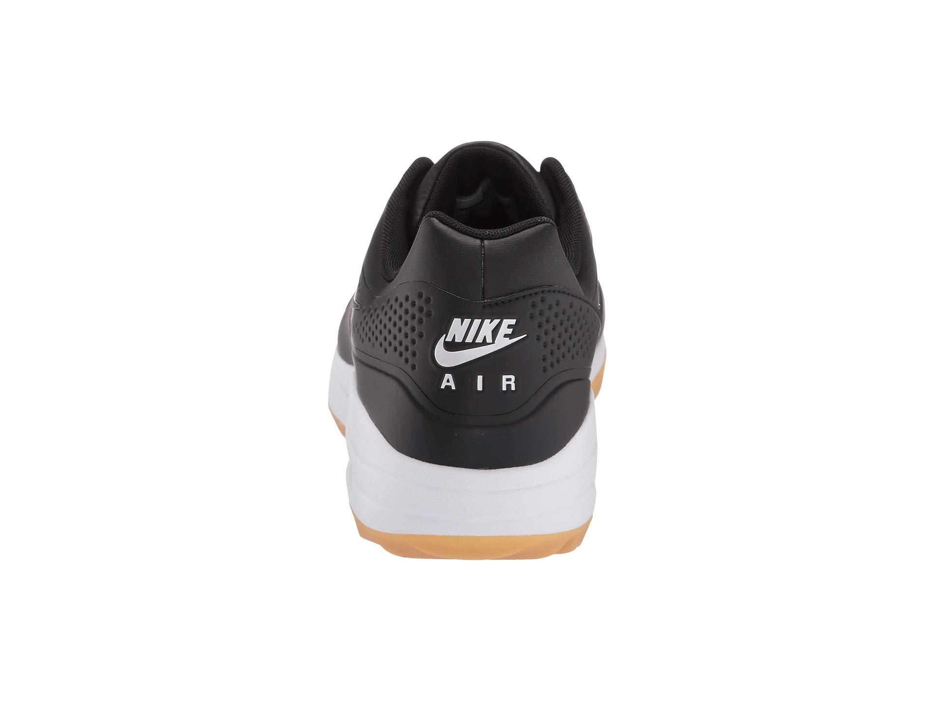 Nike Air Max 1g Faux Leather And Rubber Golf Shoes In Black For Men Lyst