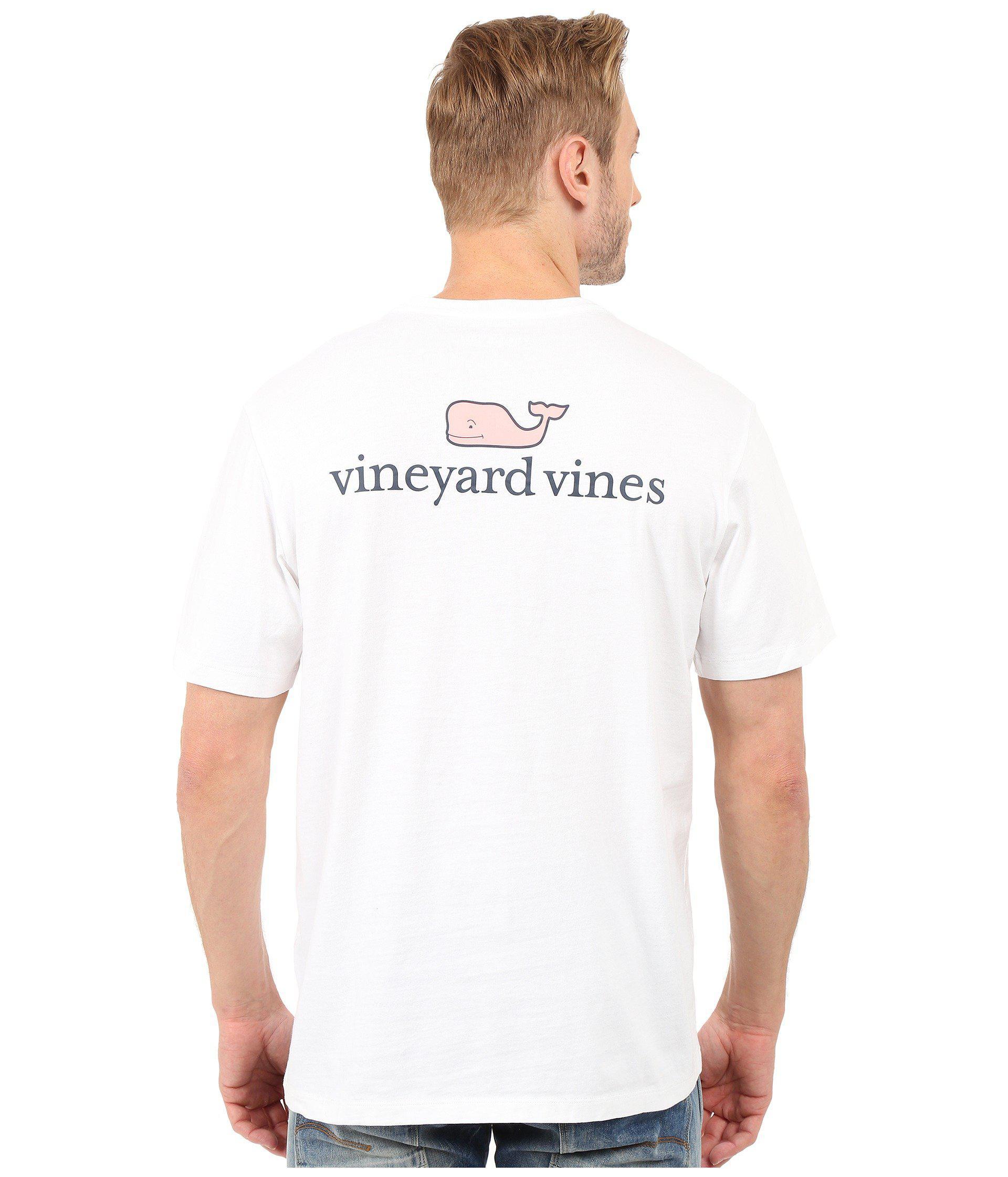 9ff3270c Vineyard Vines vv Logo Graphic TShirt Mens T Shirt White Cap