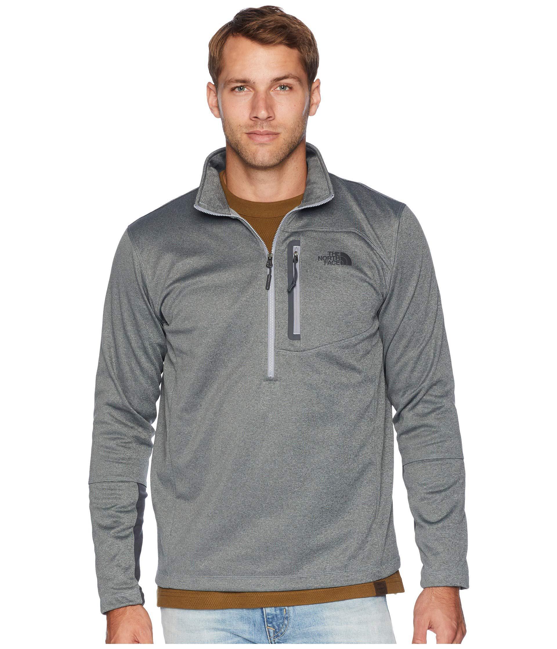 The North Face Men/'s Canyonlands Full Zip TNF Medium Grey Heather