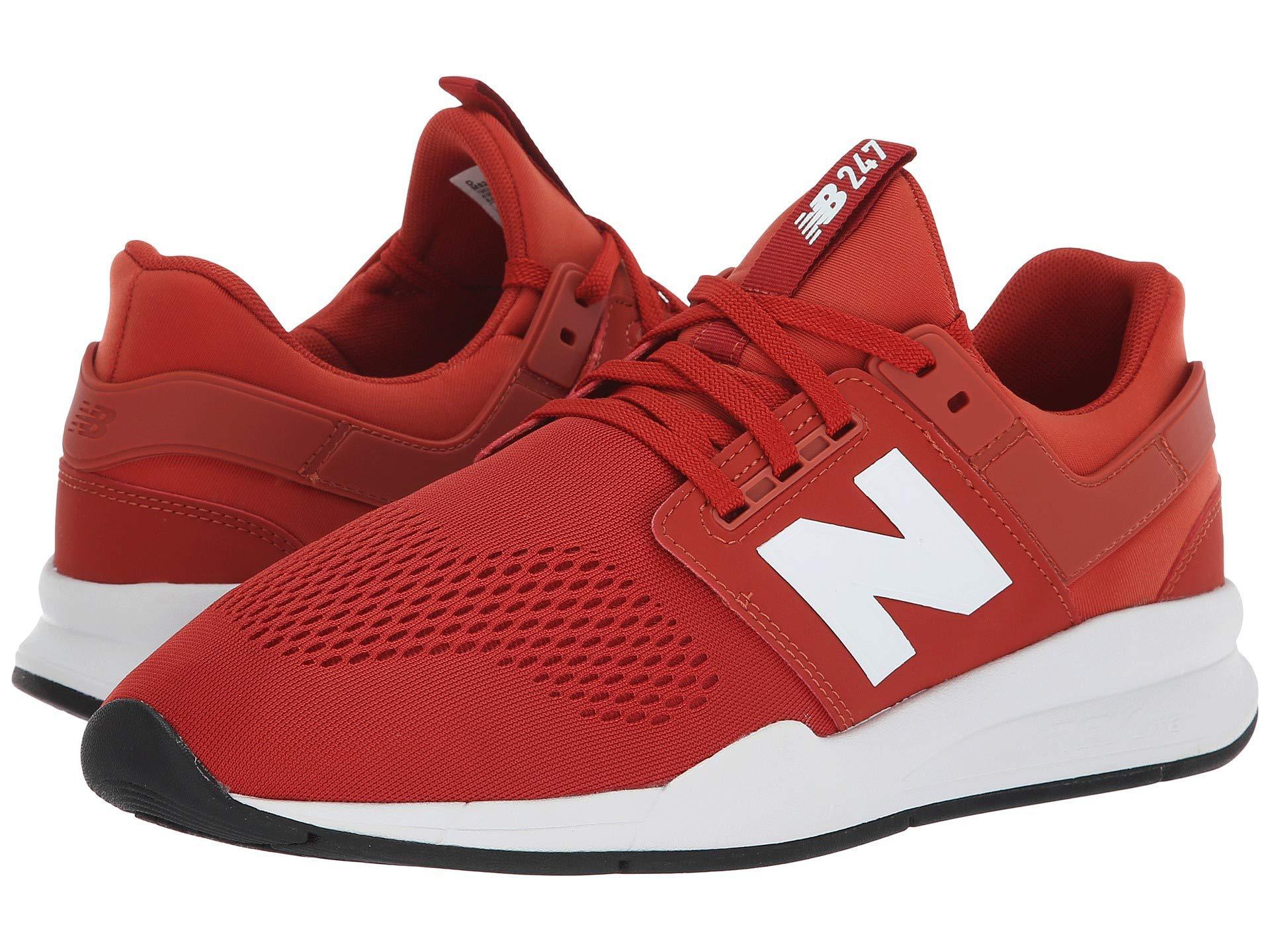 new arrival 66195 f5793 Lyst - New Balance 247v2 Sneaker in Red for Men