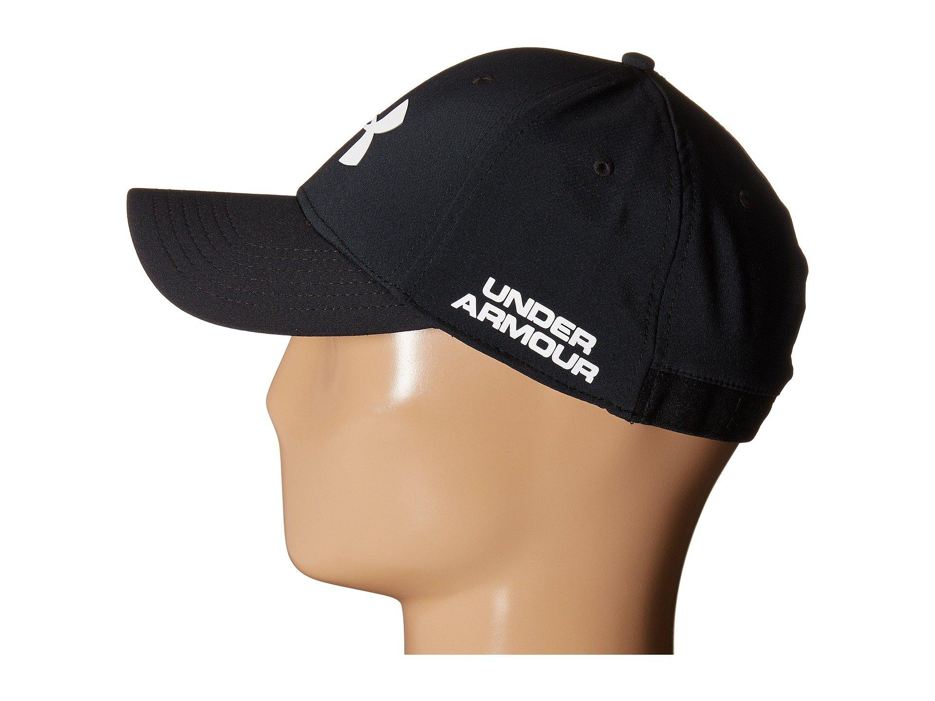 Lyst - Under Armour Ua Golf Headline Cap in Black for Men 89f73b51d72