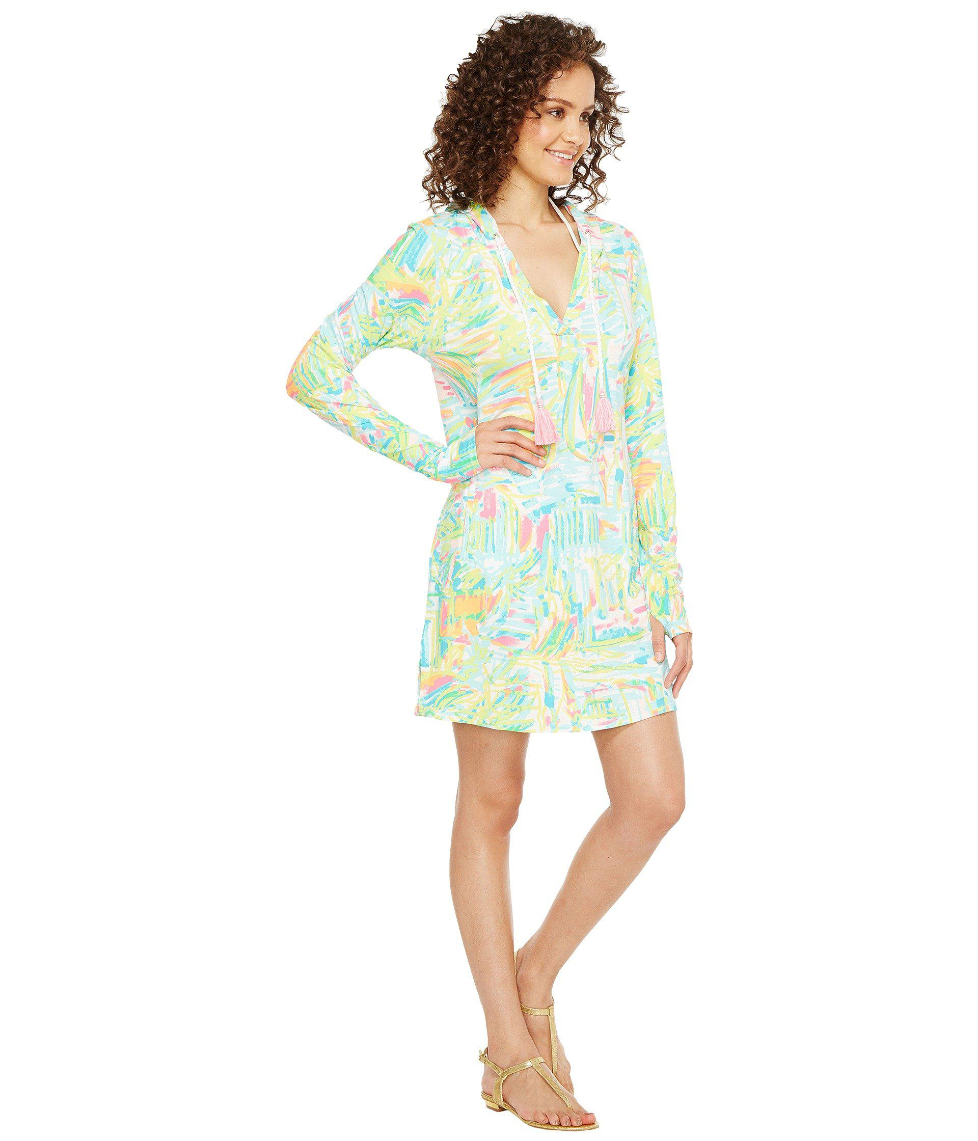 2502899e2f Lilly Pulitzer Upf 50+ Rylie Cover-up Dress (multi Sea Salt And Sun ...