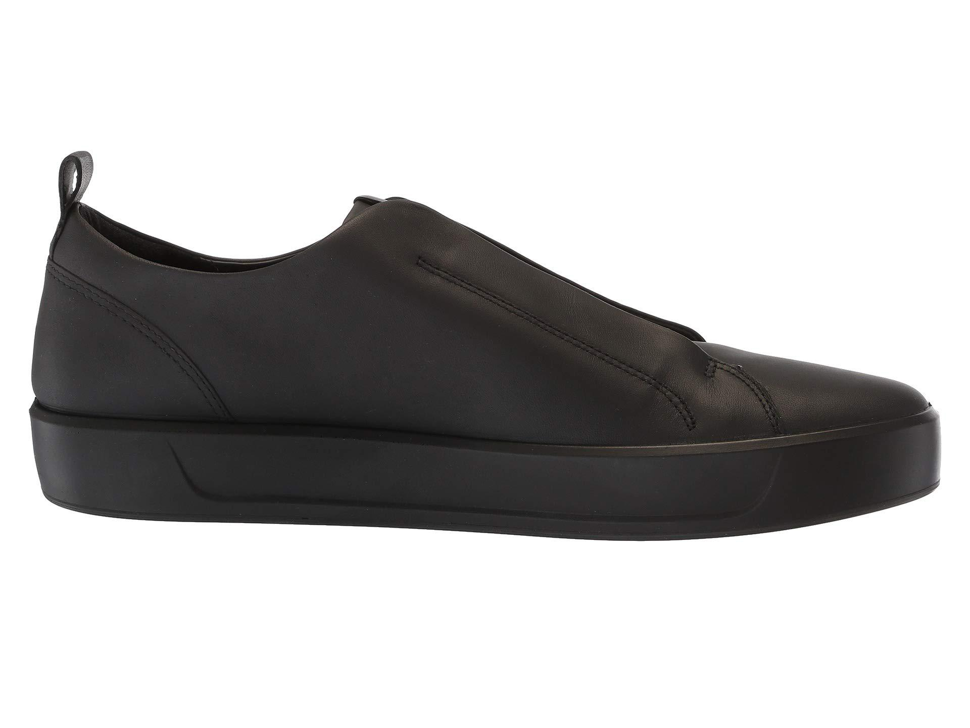 Ecco Leather Soft 8 Stretch Low (black