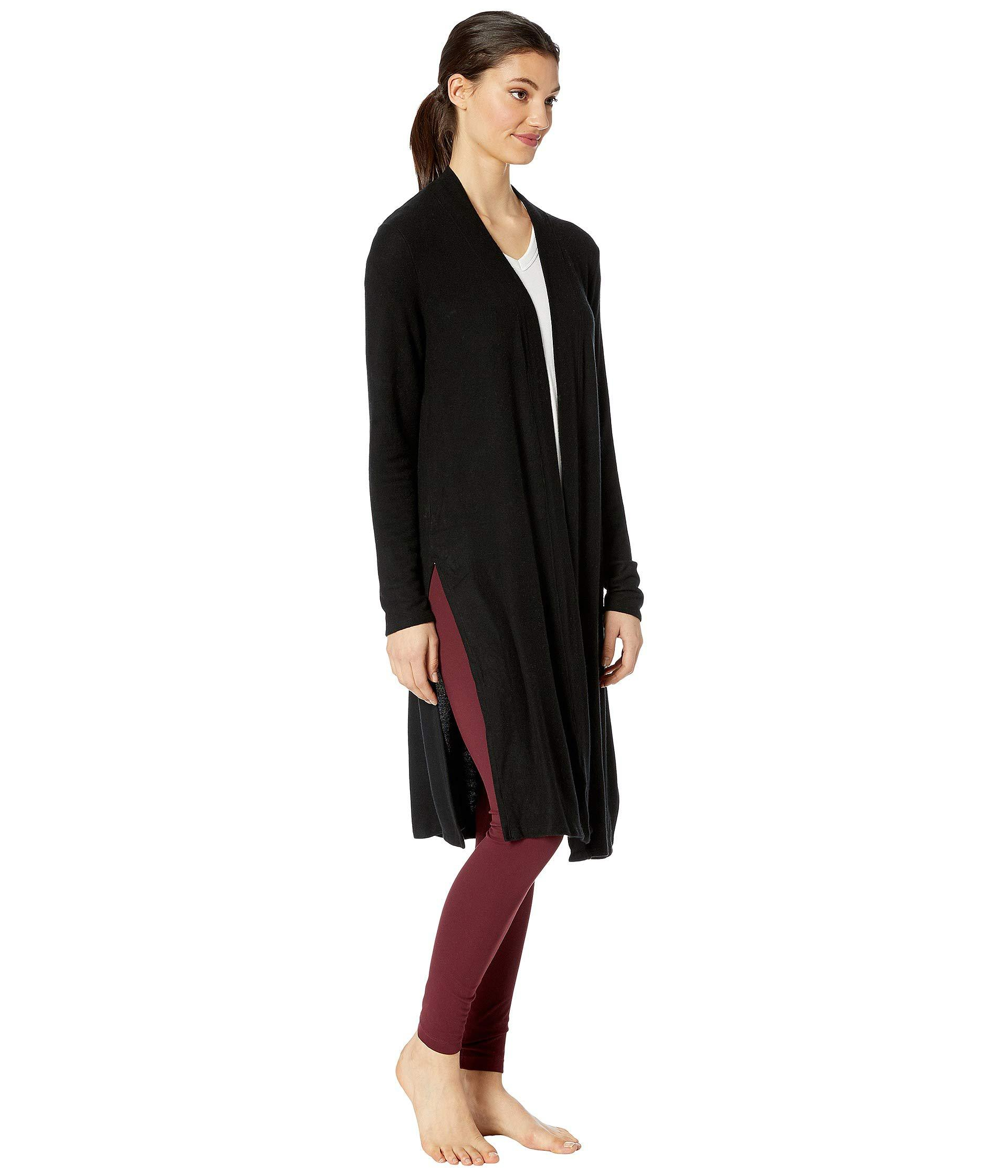 19ca79d2d7 ... High Slits Long Duster (oatmeal Heather) Women's Sweater - Lyst. View  fullscreen