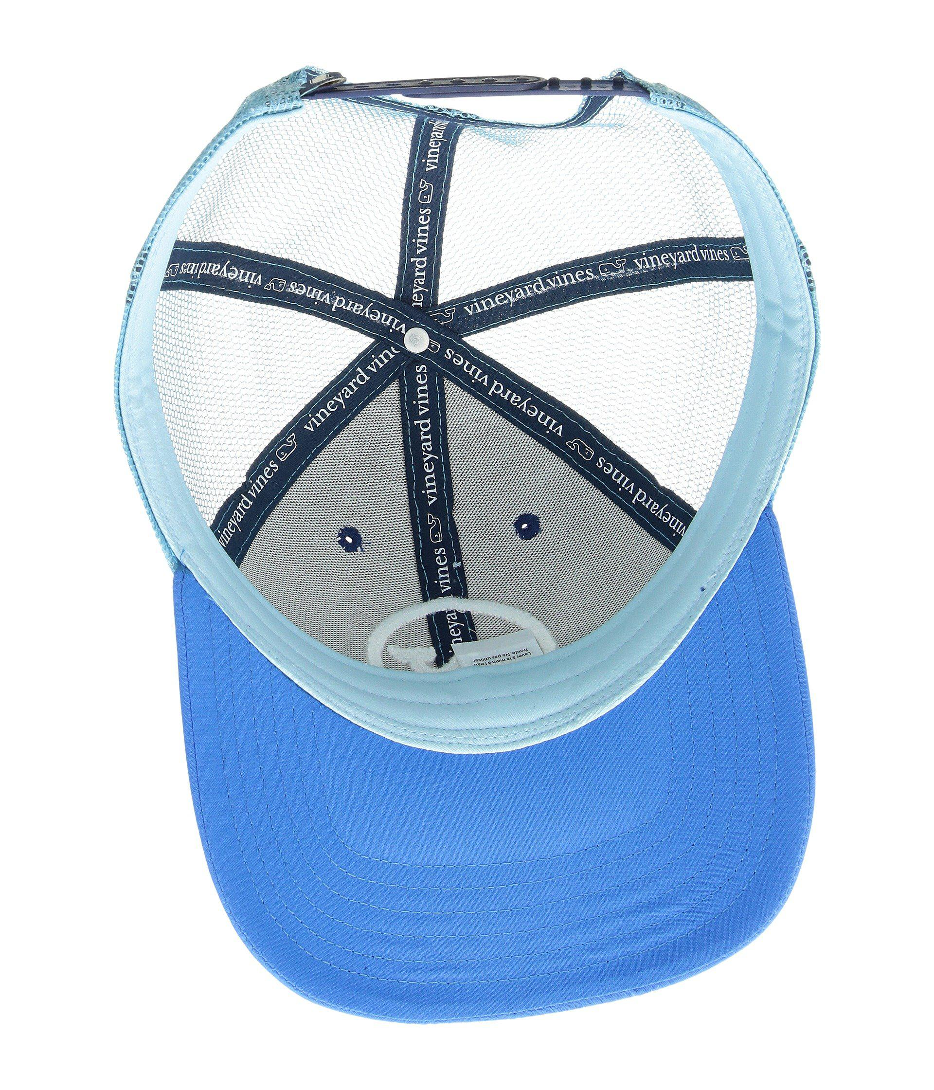 Lyst - Vineyard Vines Whale Dot Performance Trucker Hat (moonshine ... 2c8a8b234546