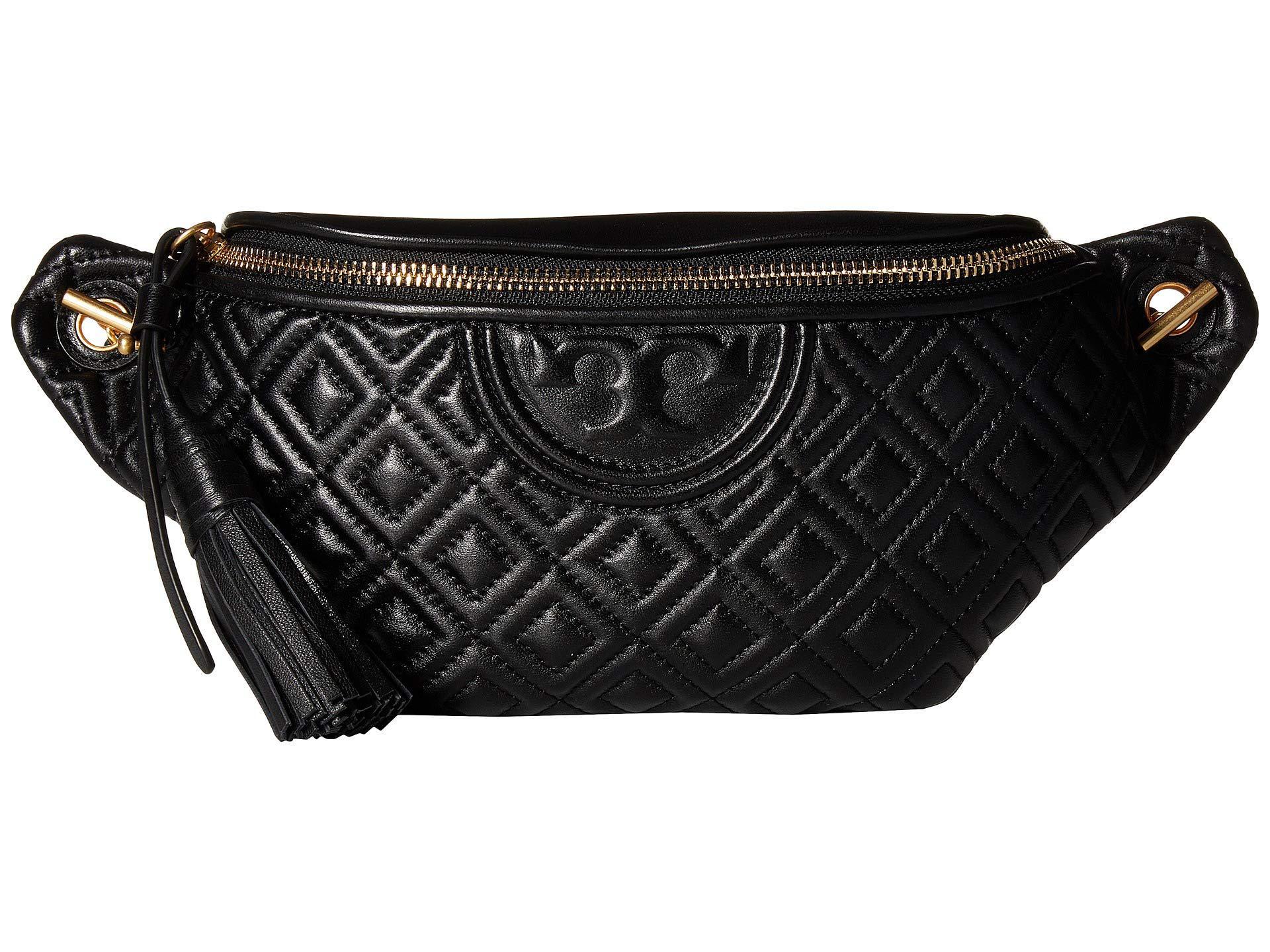 f5f93bce42c Lyst - Tory Burch Fleming Belt Bag (black) Women s Belts in Black