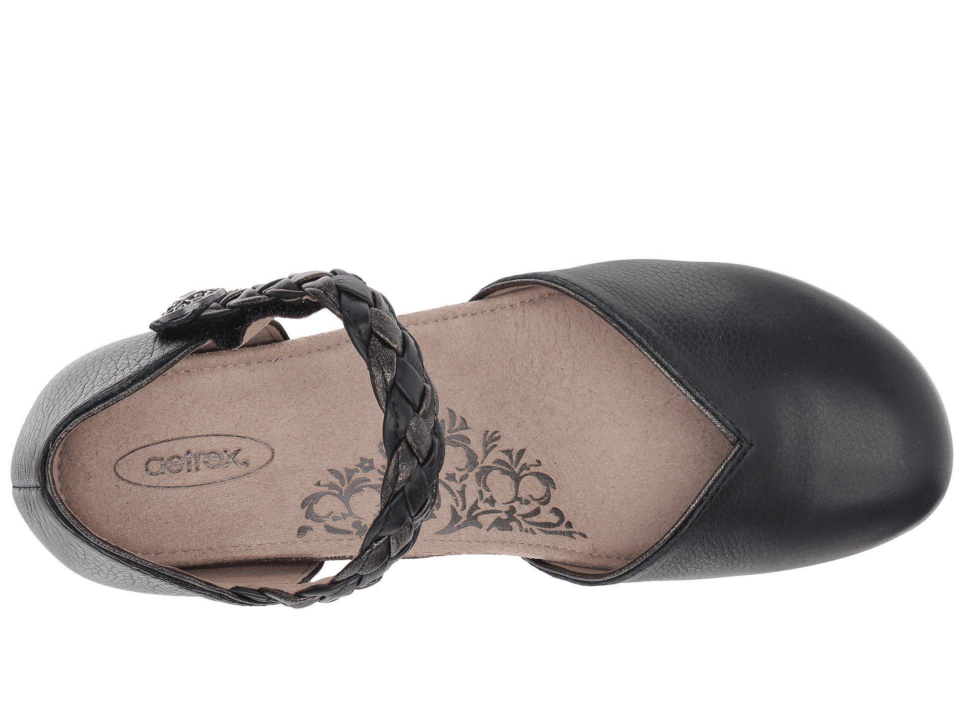 ec07ae45438b Lyst - Aetrex Mia (black) Women s Wedge Shoes in Black