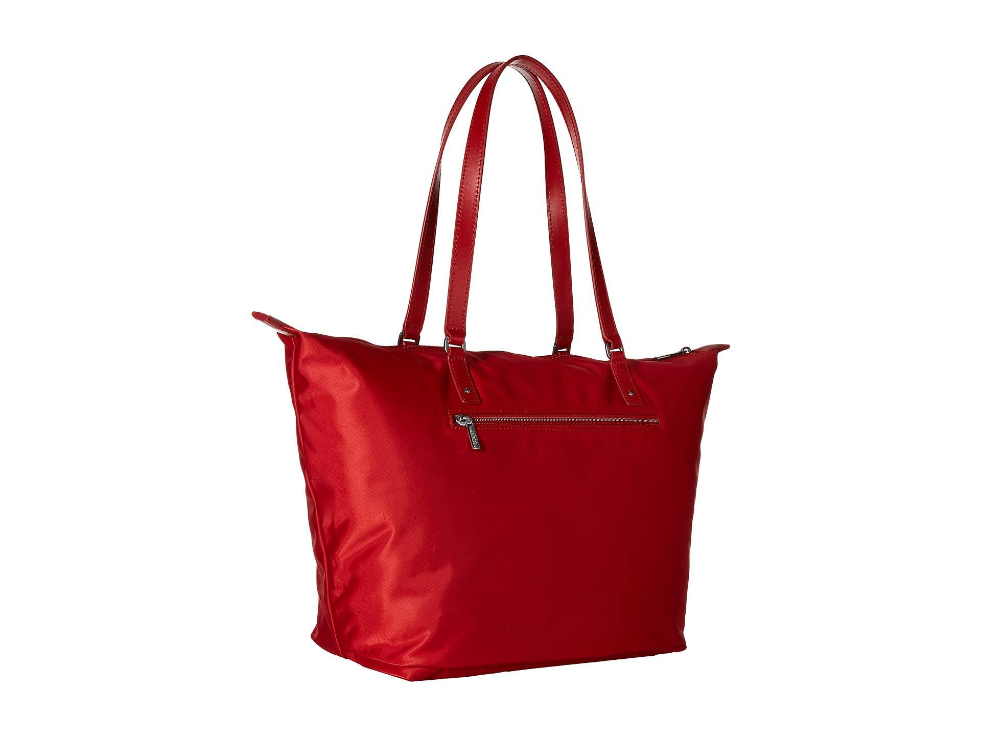 af54c08b5c1f Lipault - Red Lady Plume Tote Bag M (duck Blue) Bags - Lyst. View fullscreen